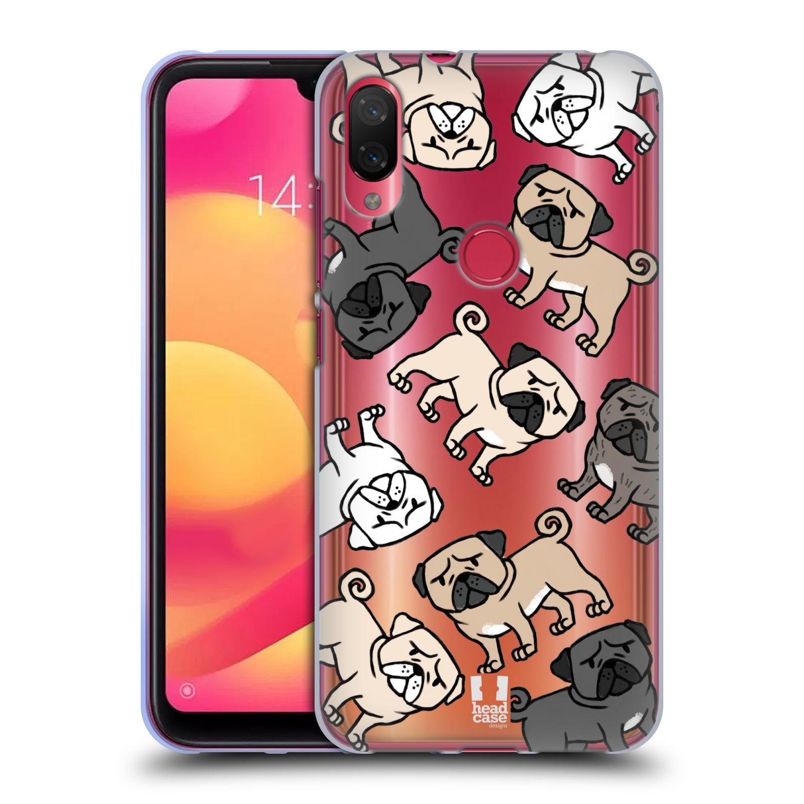 Silikonové pouzdro na mobil Xiaomi Mi Play - Head Case - Mopsíci