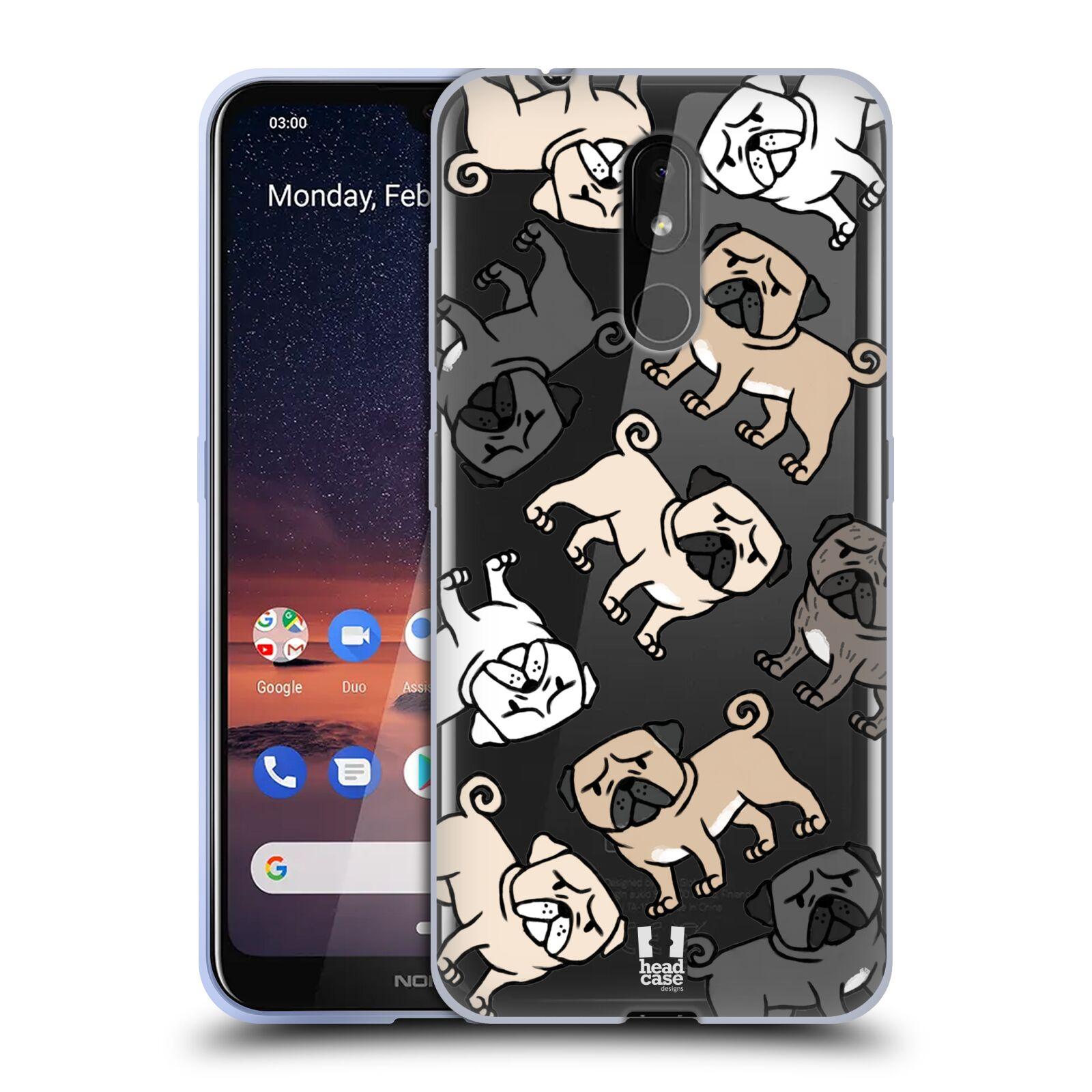 Silikonové pouzdro na mobil Nokia 3.2 - Head Case - Mopsíci