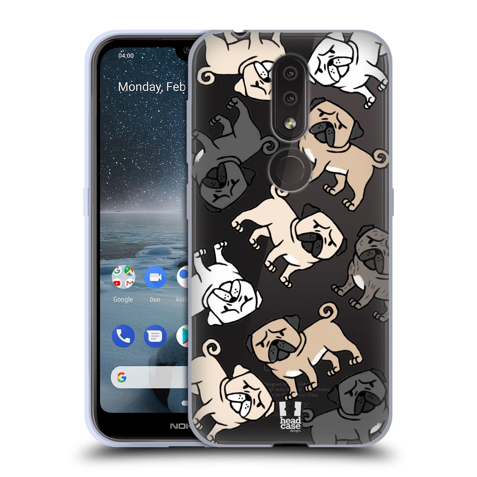 Silikonové pouzdro na mobil Nokia 4.2 - Head Case - Mopsíci