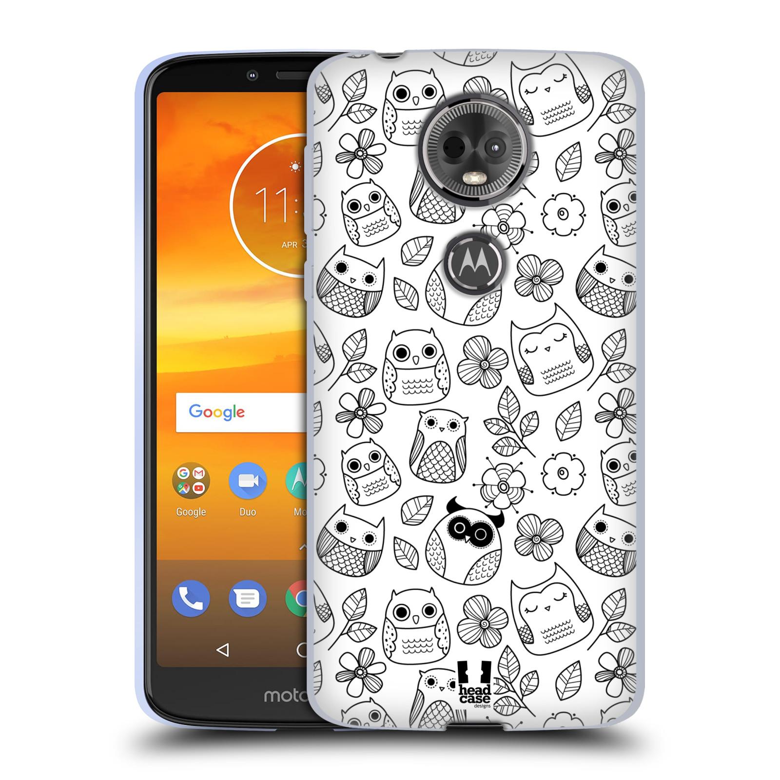 Silikonové pouzdro na mobil Motorola Moto E5 Plus - Head Case - SOVIČKY A KYTIČKY
