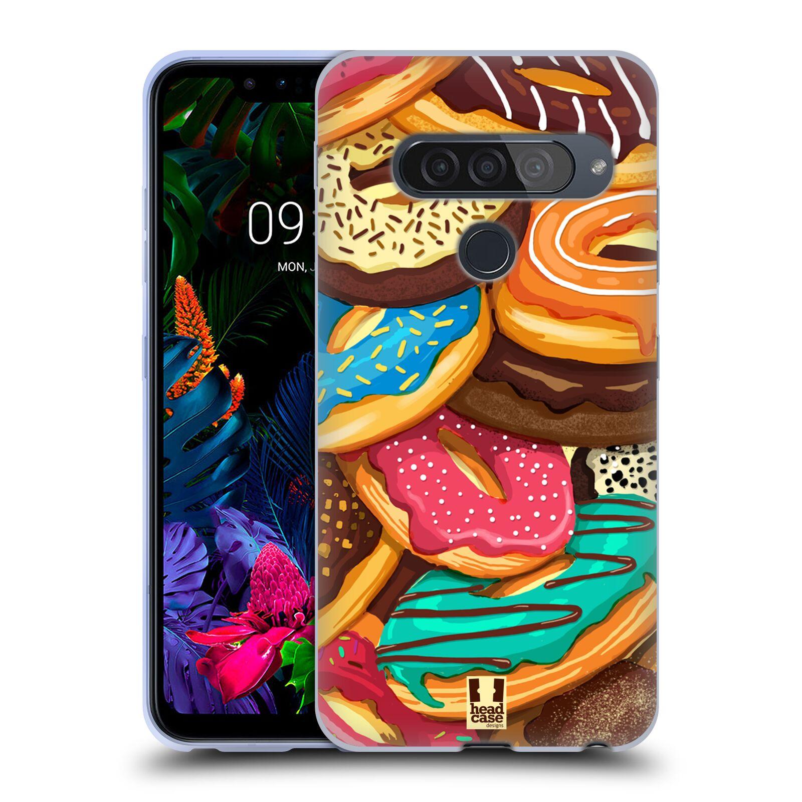 Silikonové pouzdro na mobil LG G8s ThinQ - Head Case - DONUTKY VŠUDE