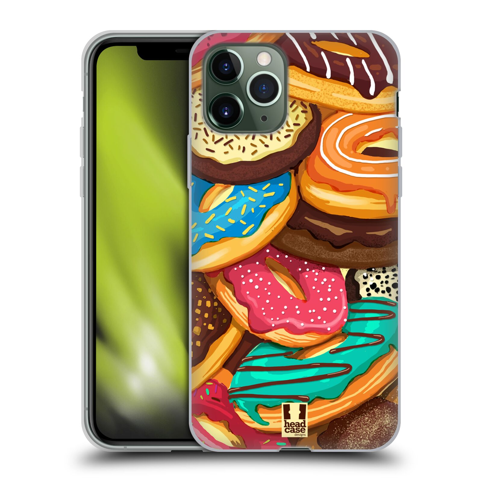 gucci iphone x case bloom - Silikonové pouzdro na mobil Apple iPhone 11 Pro - Head Case - DONUTKY VŠUDE