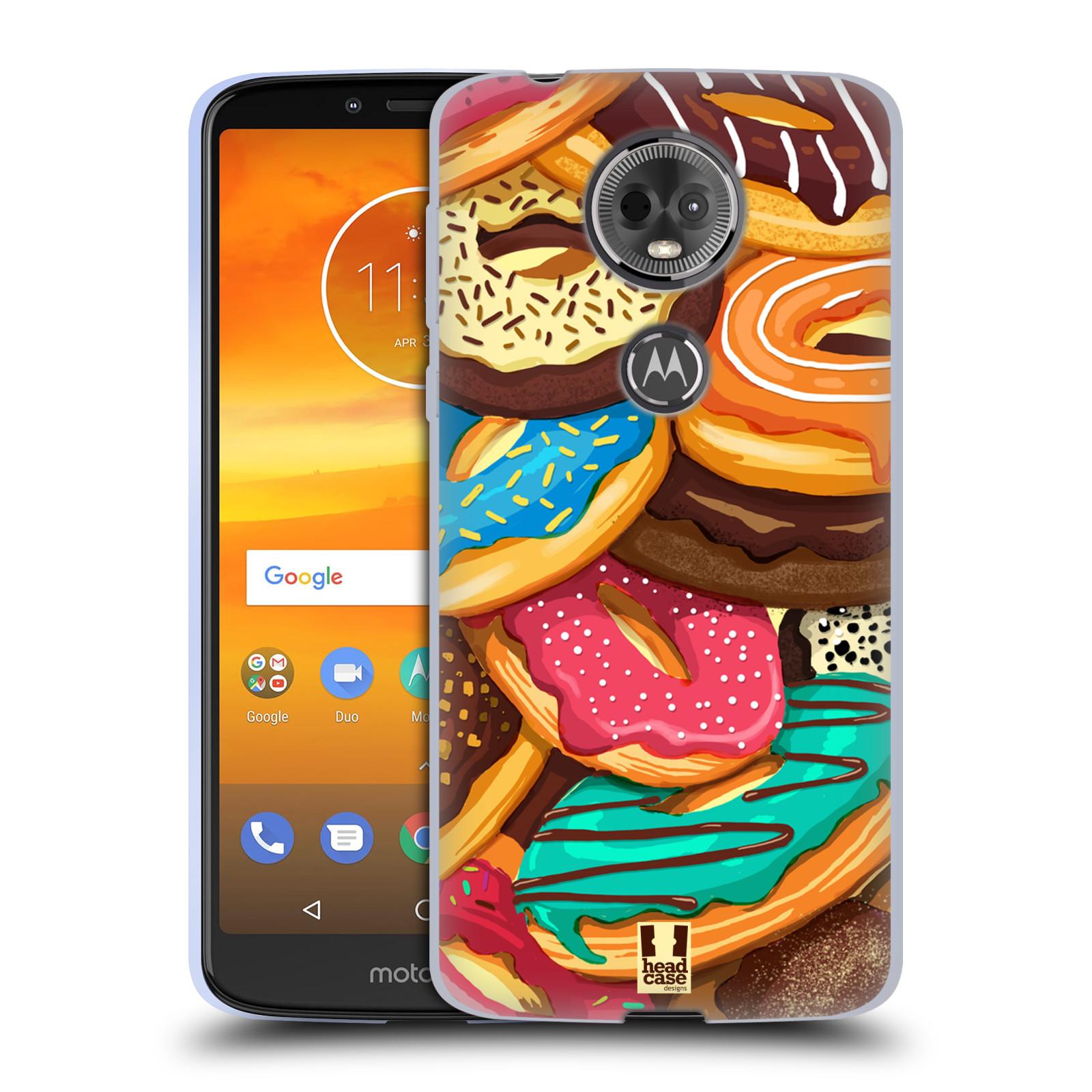 Silikonové pouzdro na mobil Motorola Moto E5 Plus - Head Case - DONUTKY VŠUDE