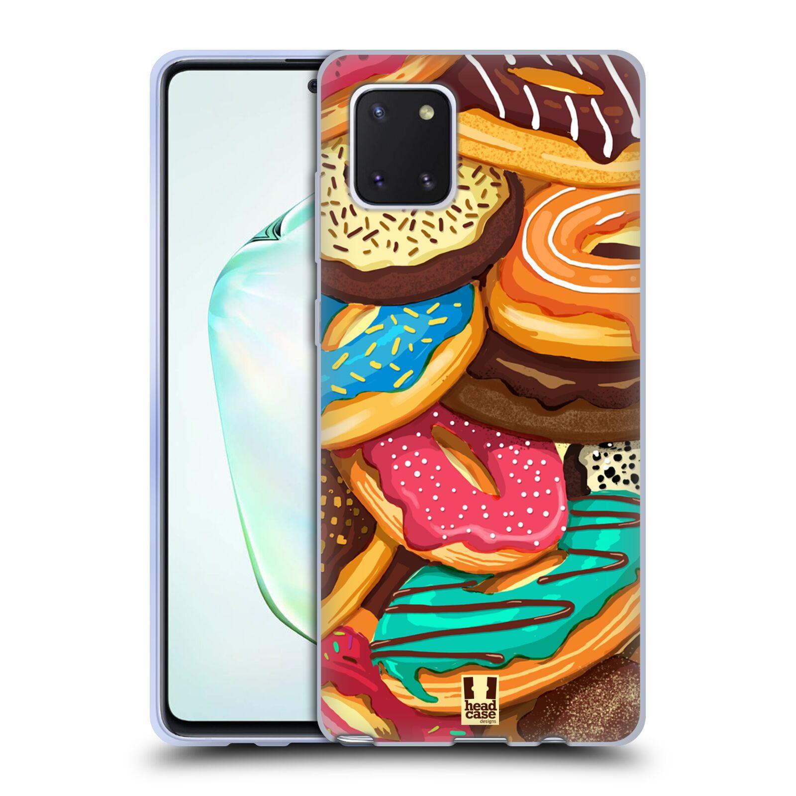 Silikonové pouzdro na mobil Samsung Galaxy Note 10 Lite - Head Case - DONUTKY VŠUDE