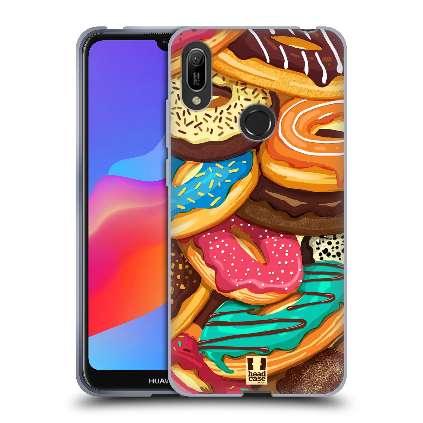 Silikonové pouzdro na mobil Huawei Y6 (2019) - Head Case - DONUTKY VŠUDE