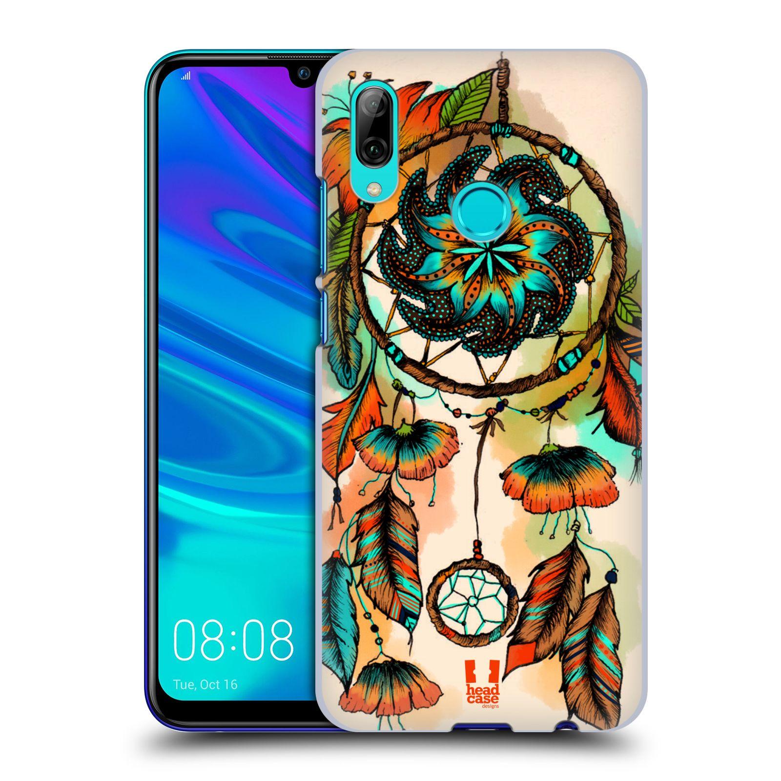 Plastové pouzdro na mobil Huawei P Smart (2019) - Head Case - BLOOM APRICOT