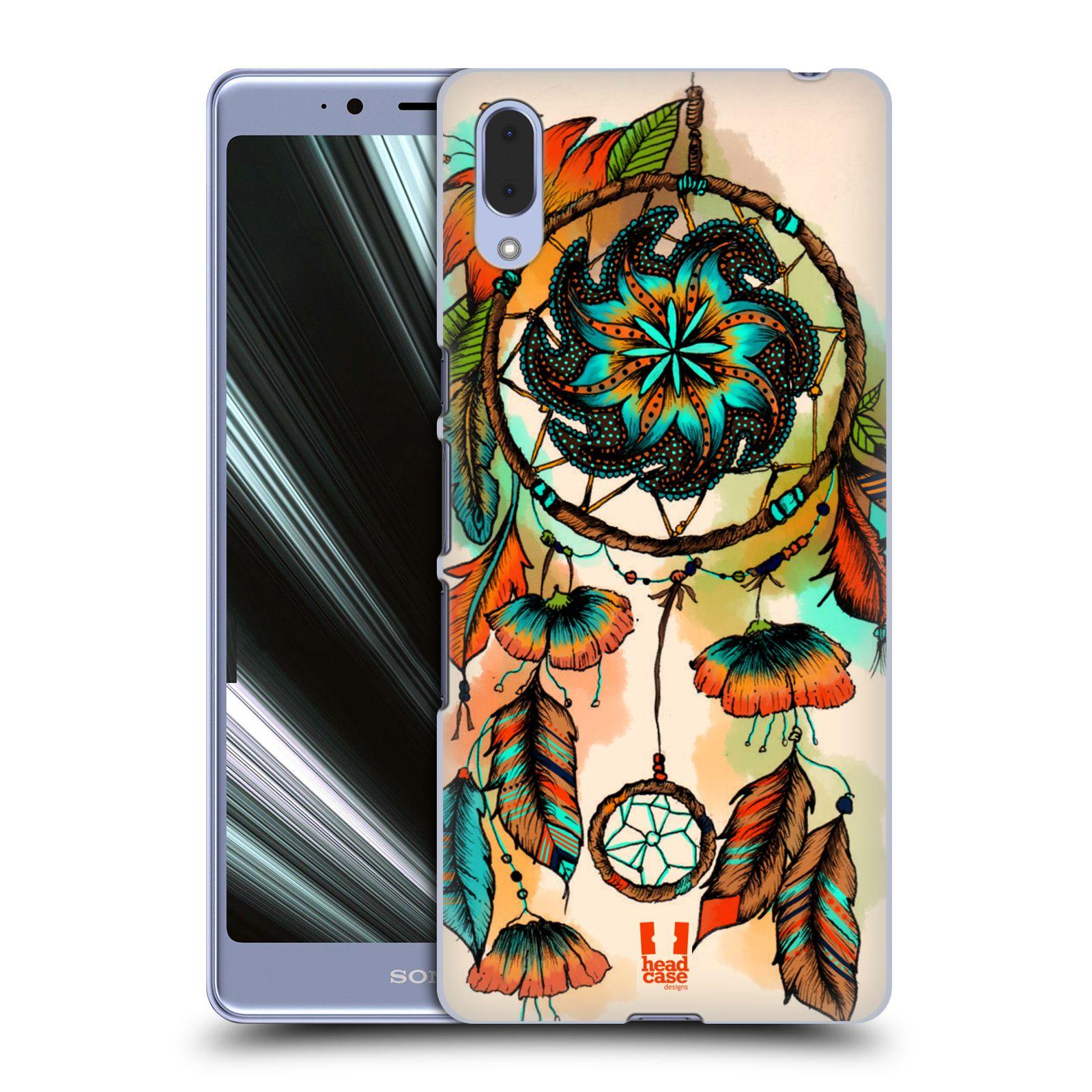 Plastové pouzdro na mobil Sony Xperia L3 - Head Case - BLOOM APRICOT