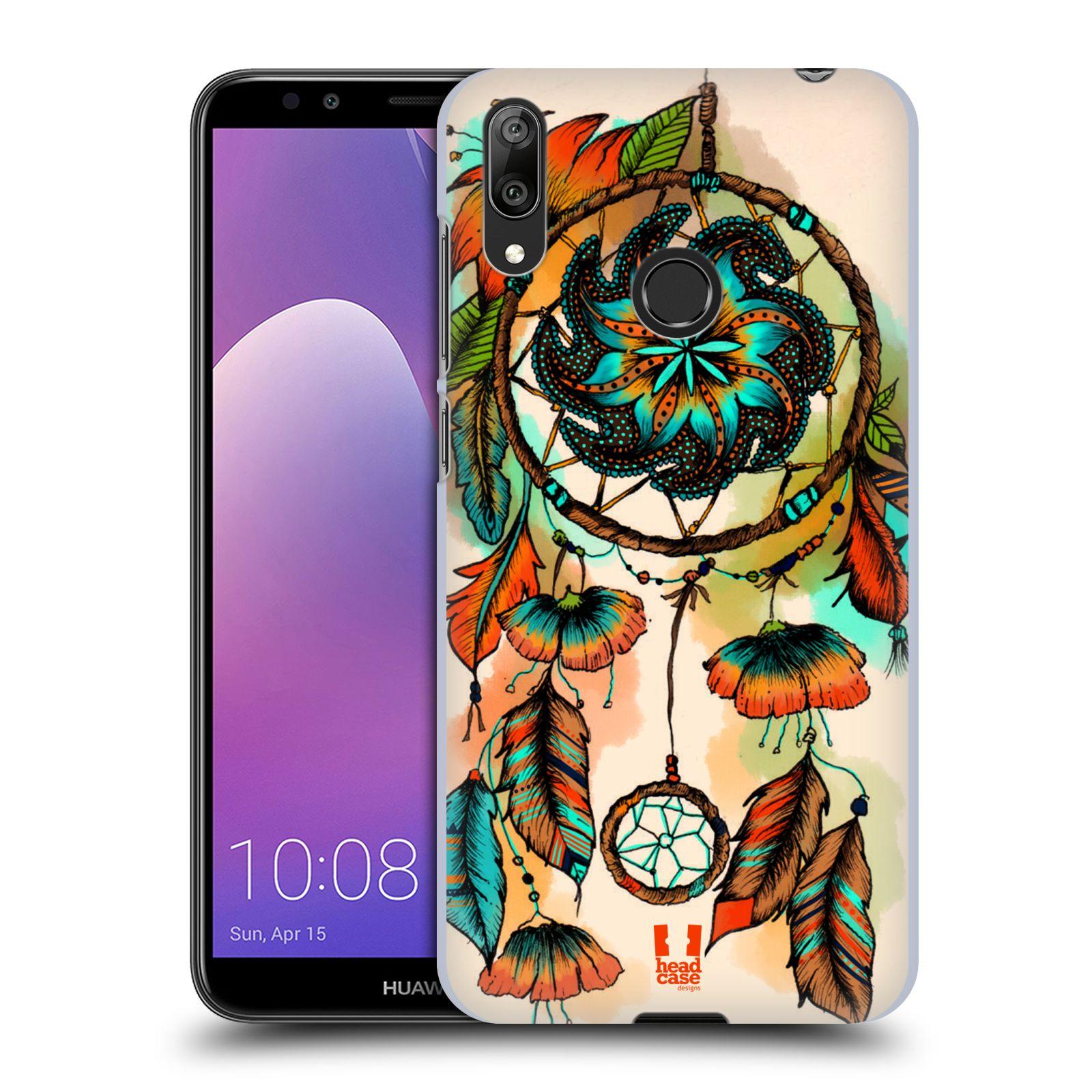Plastové pouzdro na mobil Huawei Y7 (2019) - Head Case - BLOOM APRICOT