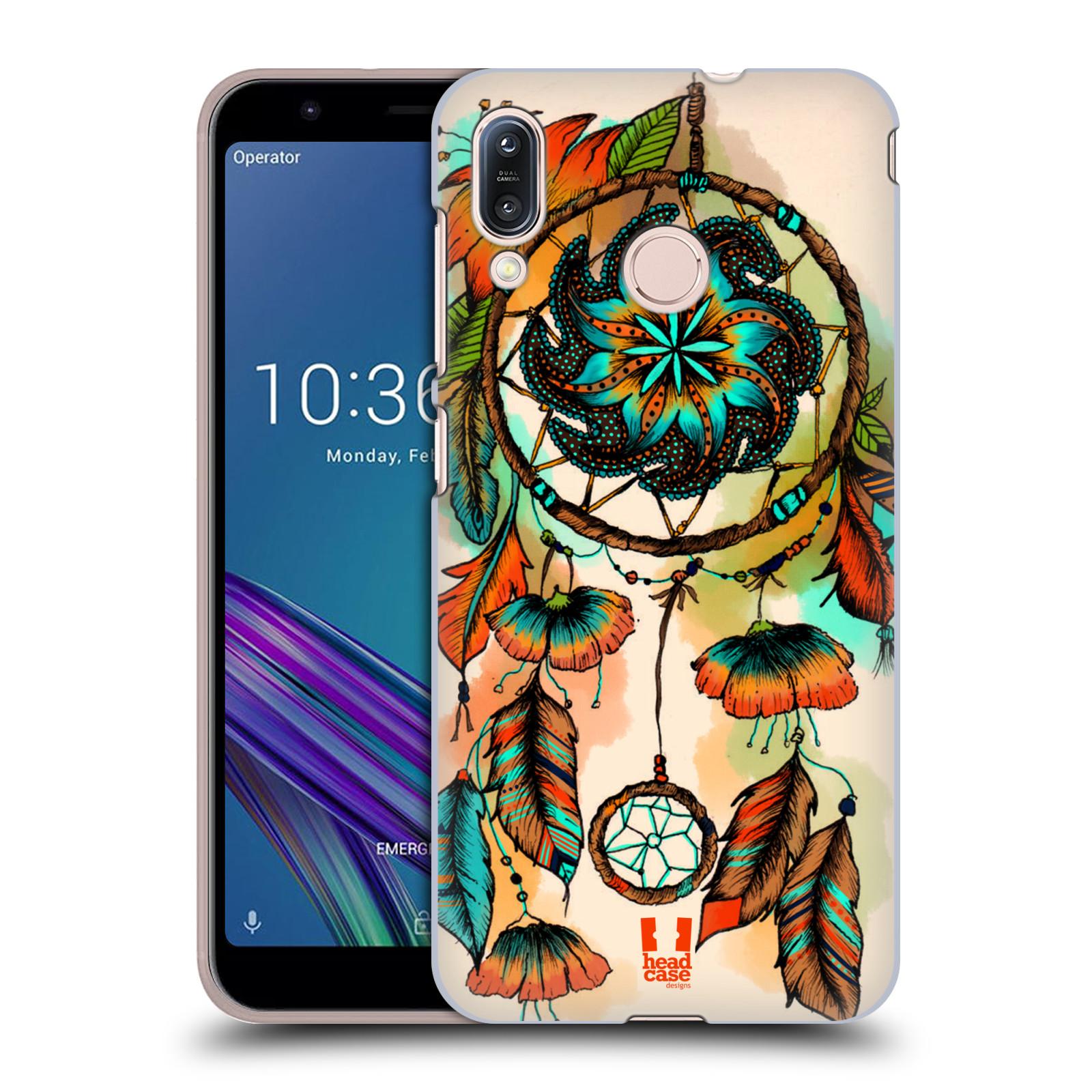 Plastové pouzdro na mobil Asus Zenfone Max M1 ZB555KL - Head Case - BLOOM APRICOT