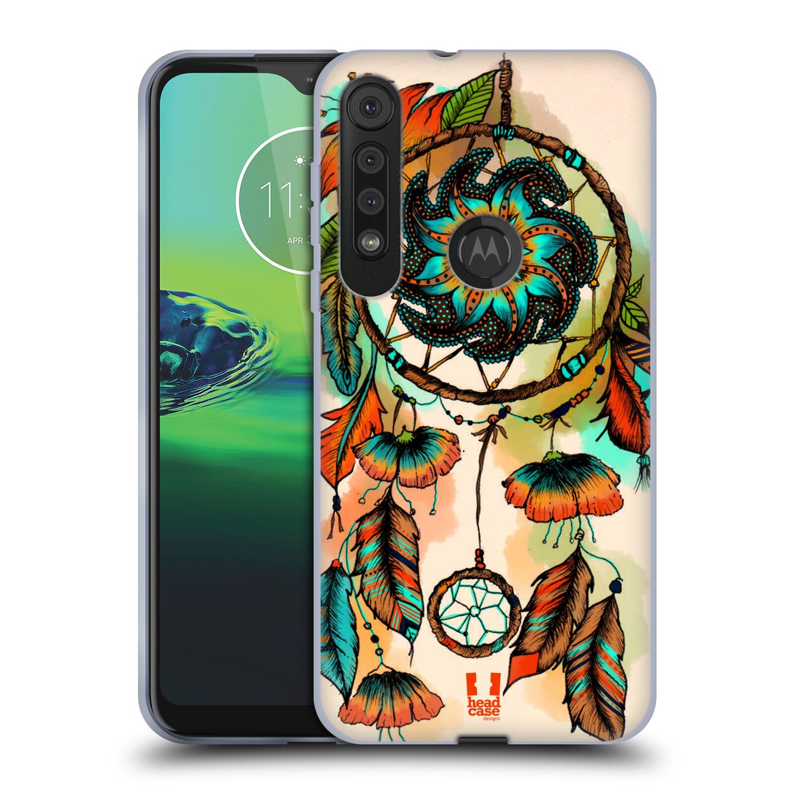 Silikonové pouzdro na mobil Motorola One Macro - Head Case - BLOOM APRICOT