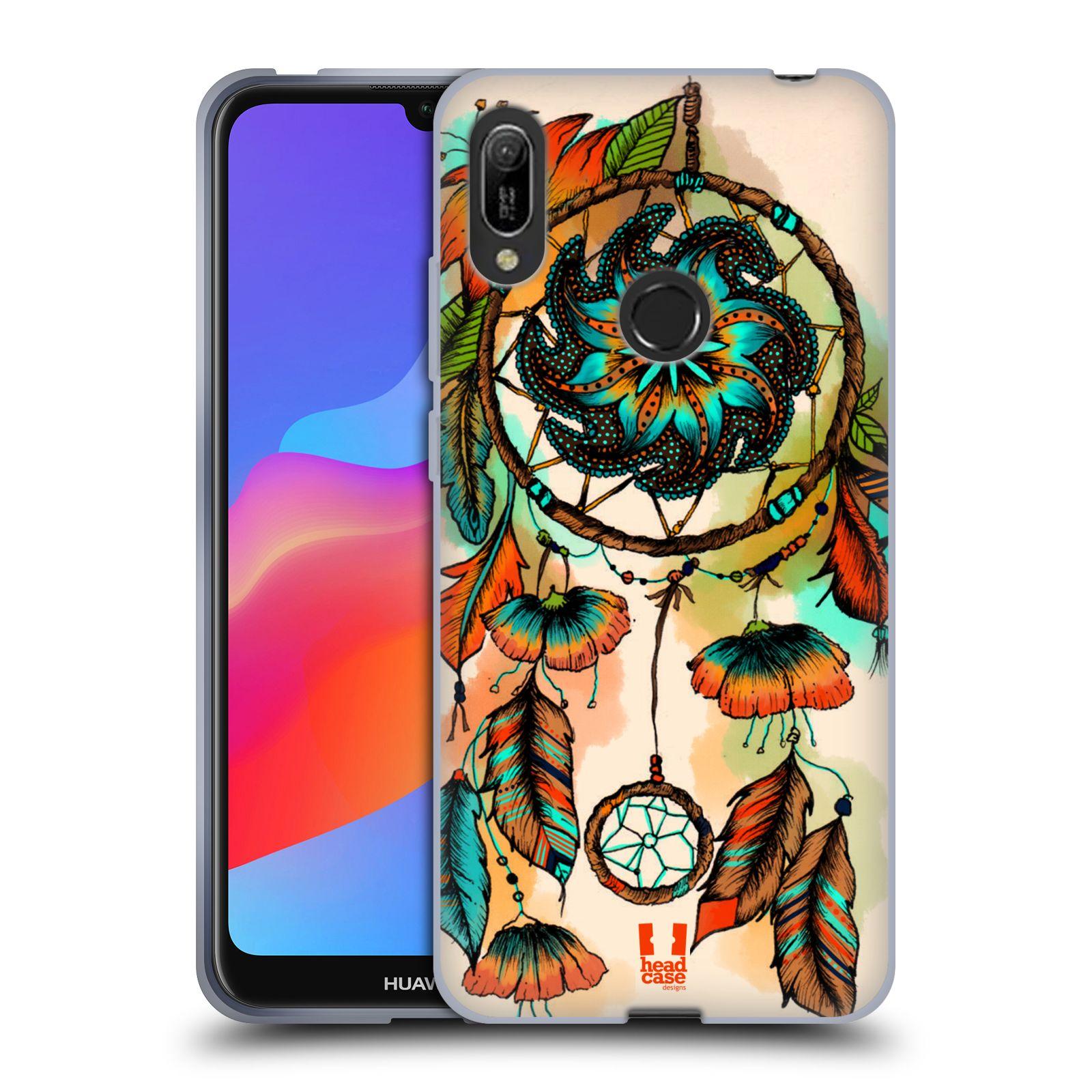 Silikonové pouzdro na mobil Huawei Y6 (2019) - Head Case - BLOOM APRICOT