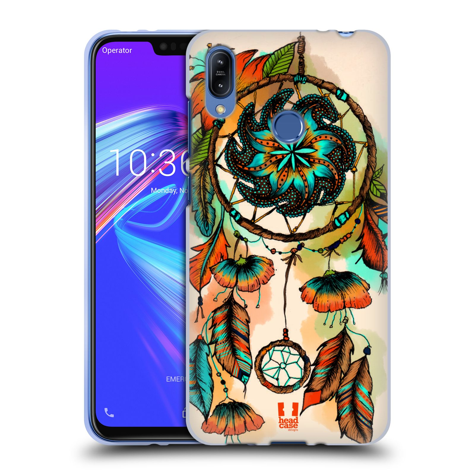 Silikonové pouzdro na mobil Asus Zenfone Max (M2) ZB633KL - Head Case - BLOOM APRICOT
