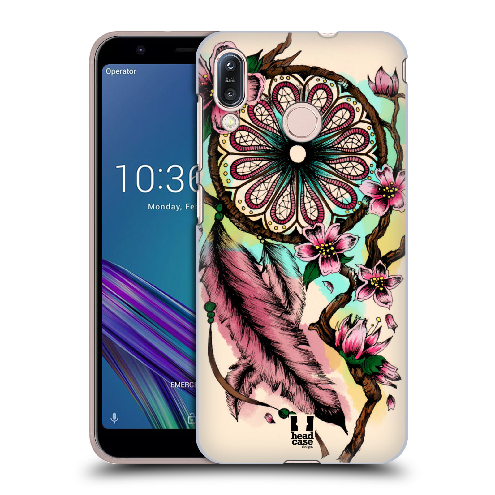 Plastové pouzdro na mobil Asus Zenfone Max M1 ZB555KL - Head Case - BLOOM BLOSSOMS