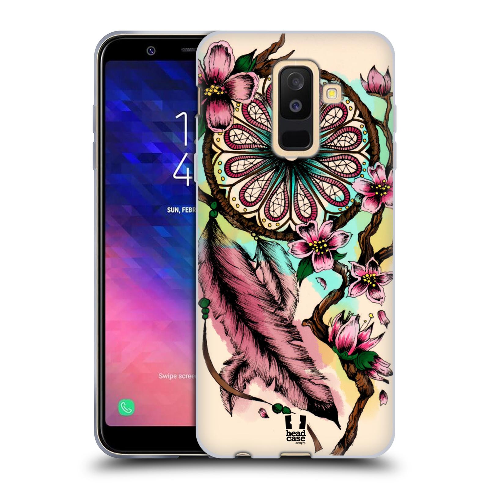 Silikonové pouzdro na mobil Samsung Galaxy A6 Plus (2018) - Head Case - BLOOM BLOSSOMS