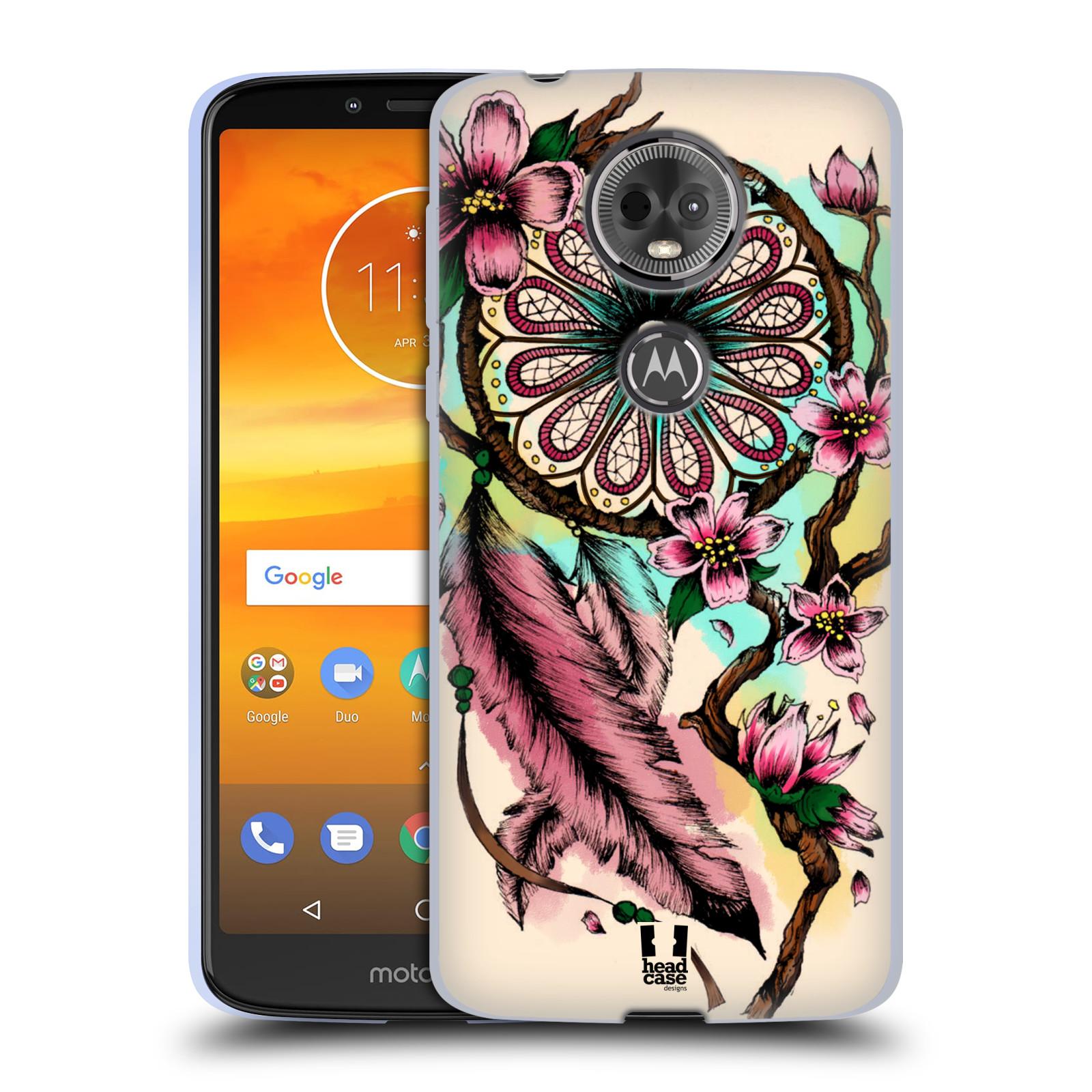 Silikonové pouzdro na mobil Motorola Moto E5 Plus - Head Case - BLOOM BLOSSOMS