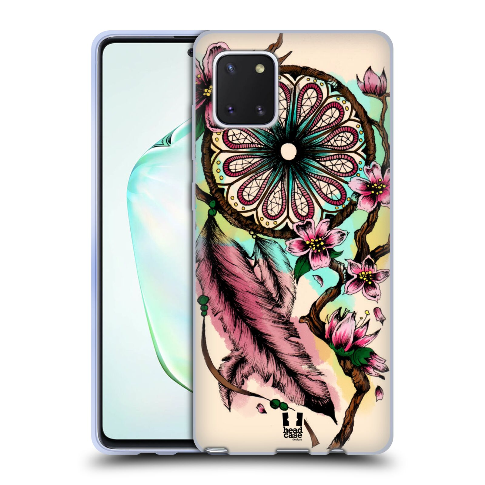 Silikonové pouzdro na mobil Samsung Galaxy Note 10 Lite - Head Case - BLOOM BLOSSOMS