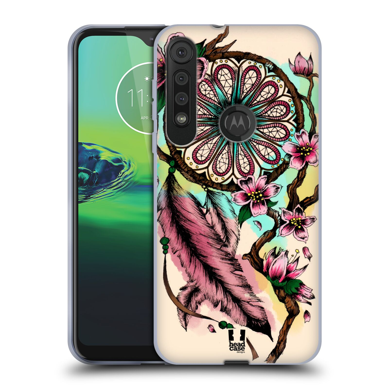 Silikonové pouzdro na mobil Motorola One Macro - Head Case - BLOOM BLOSSOMS
