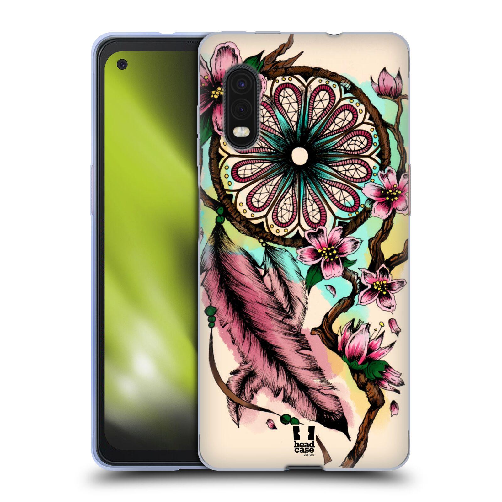 Silikonové pouzdro na mobil Samsung Galaxy Xcover Pro - Head Case - BLOOM BLOSSOMS