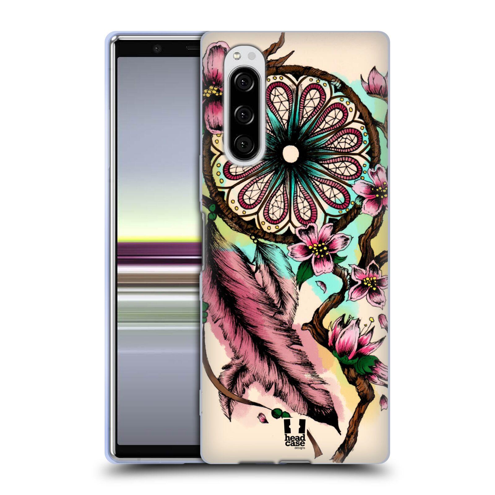 Silikonové pouzdro na mobil Sony Xperia 5 - Head Case - BLOOM BLOSSOMS
