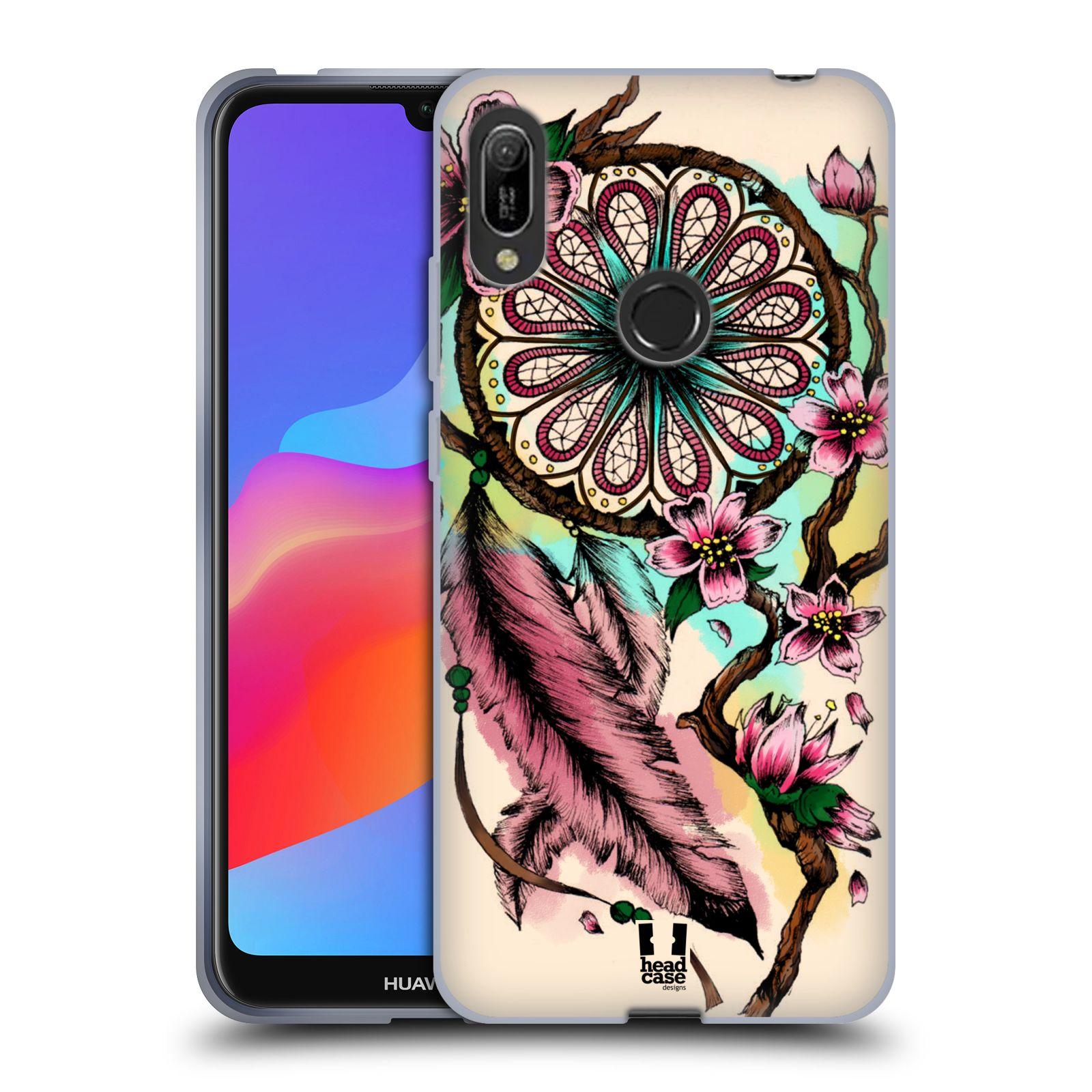Silikonové pouzdro na mobil Huawei Y6 (2019) - Head Case - BLOOM BLOSSOMS