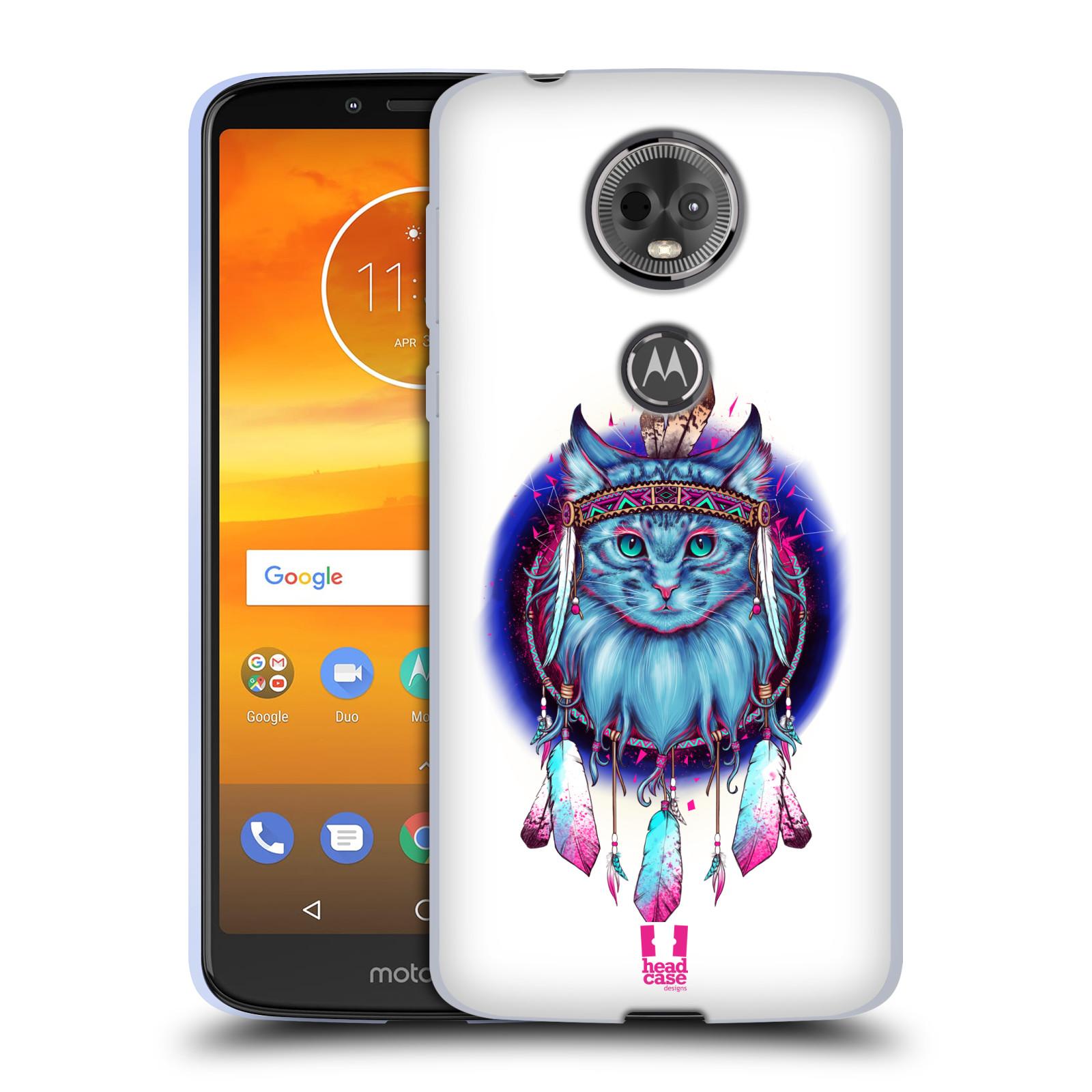 Silikonové pouzdro na mobil Motorola Moto E5 Plus - Head Case - Kočičí lapač