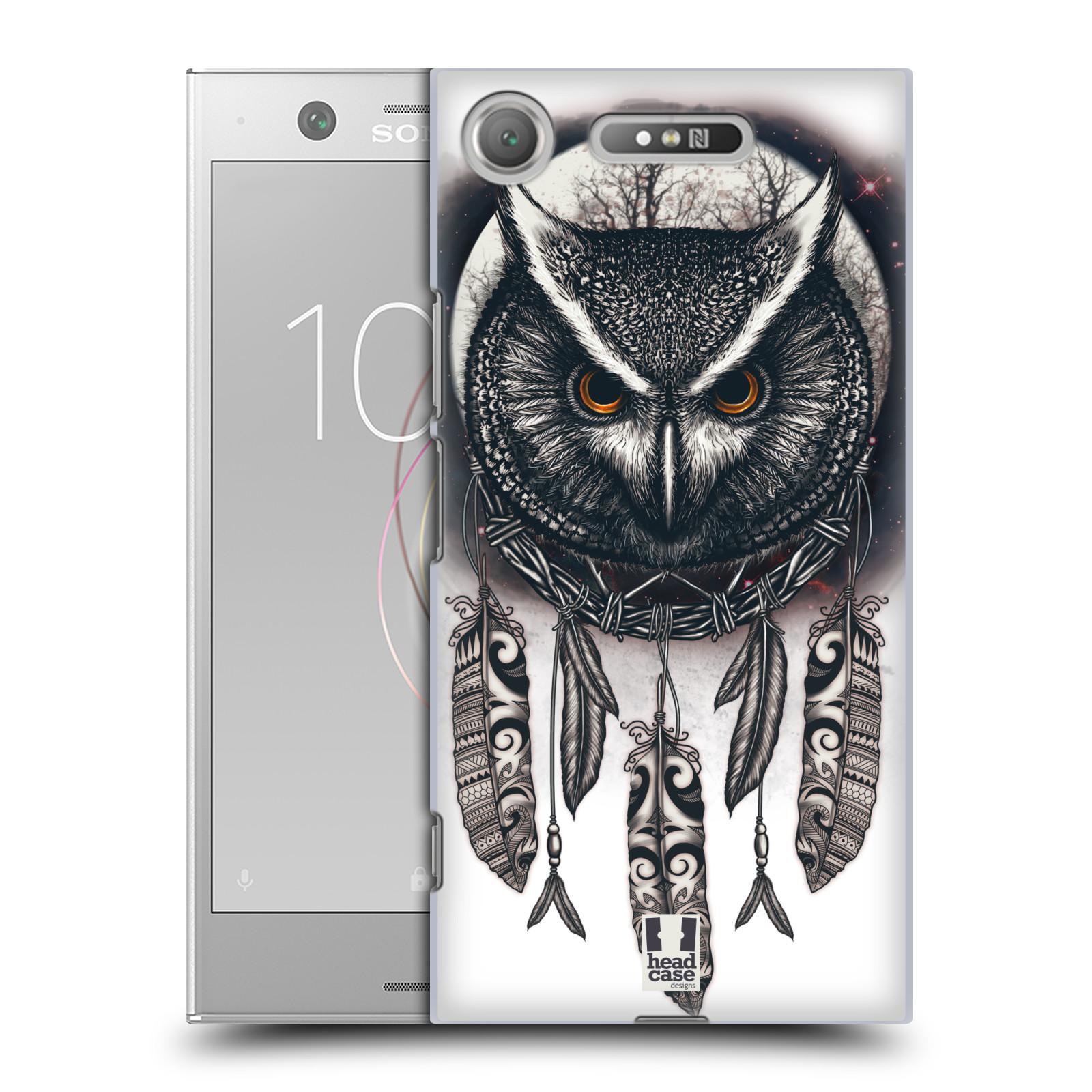 Plastové pouzdro na mobil Sony Xperia XZ1 - Head Case - Soví lapač