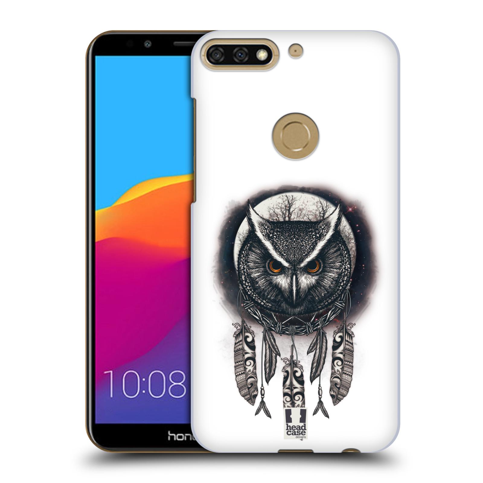 Plastové pouzdro na mobil Huawei Y7 Prime 2018 - Head Case - Soví lapač