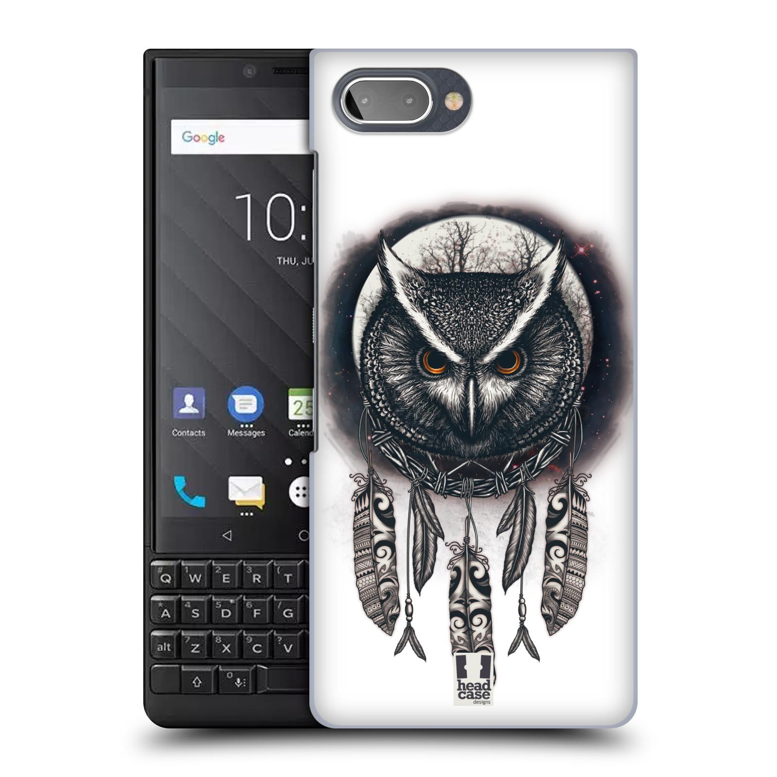 Plastové pouzdro na mobil Blackberry Key 2 - Head Case - Soví lapač
