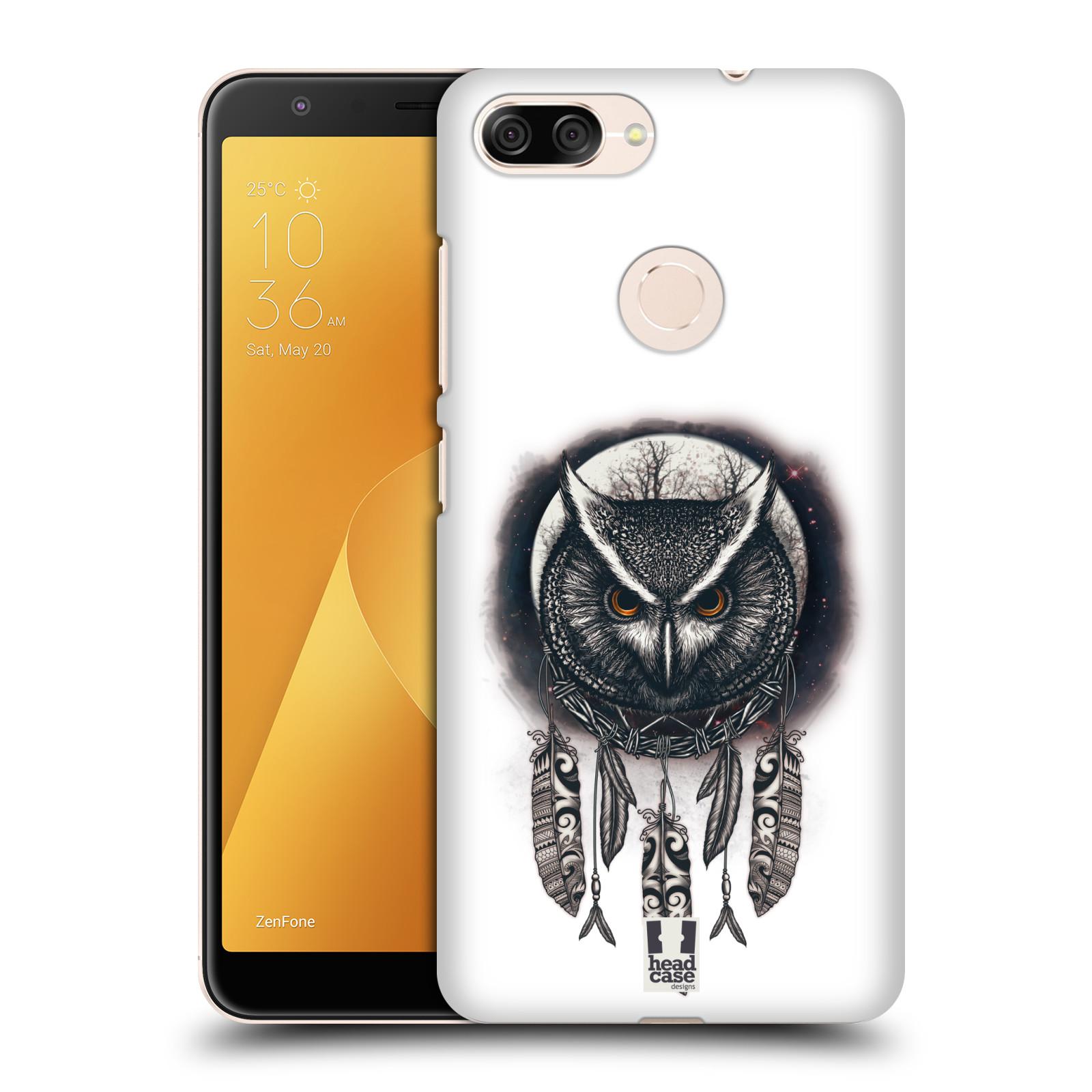 Plastové pouzdro na mobil Asus ZenFone Max Plus (M1) - Head Case - Soví lapač