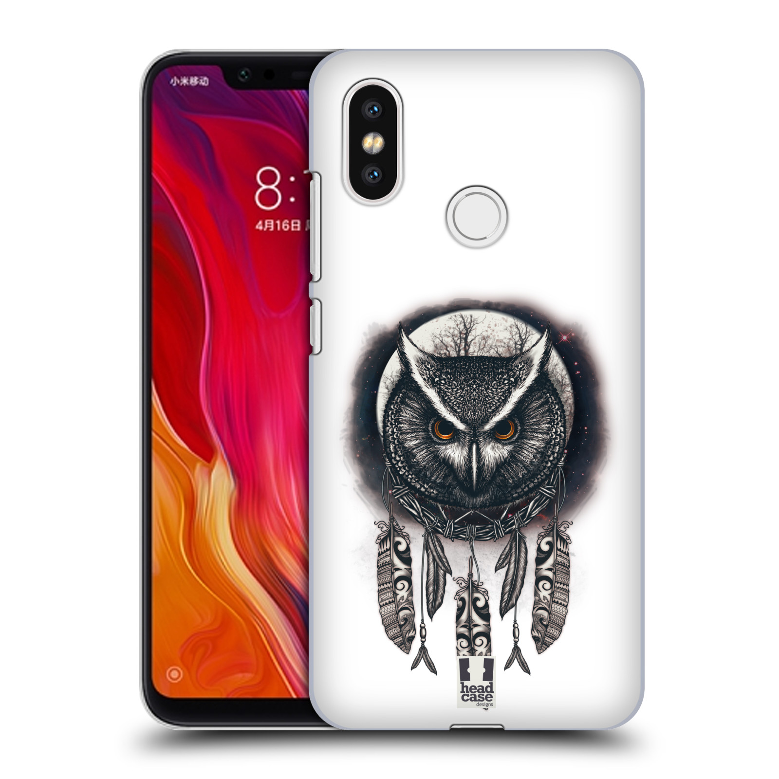 Plastové pouzdro na mobil Xiaomi Mi8 - Head Case - Soví lapač