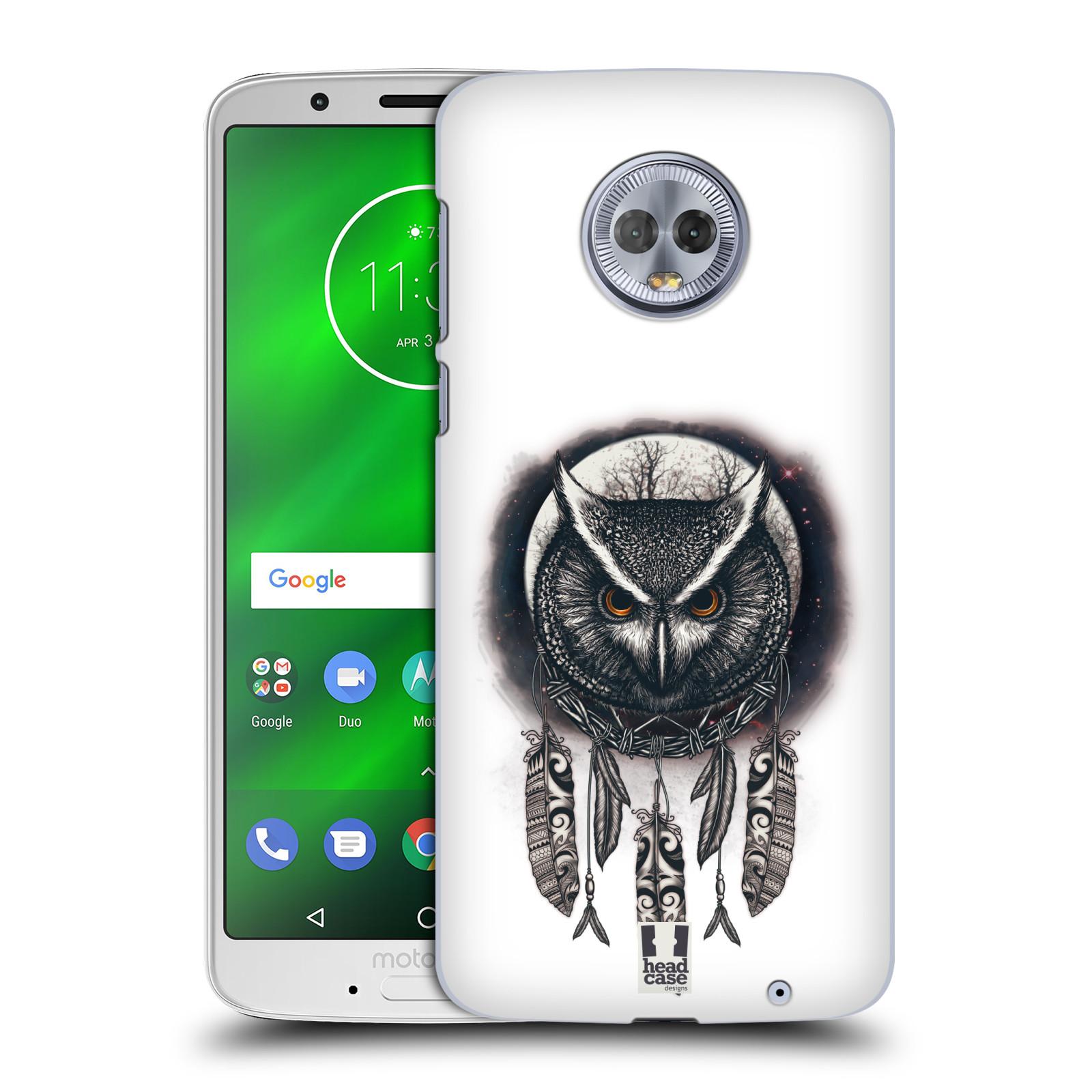 Plastové pouzdro na mobil Motorola Moto G6 Plus - Head Case - Soví lapač
