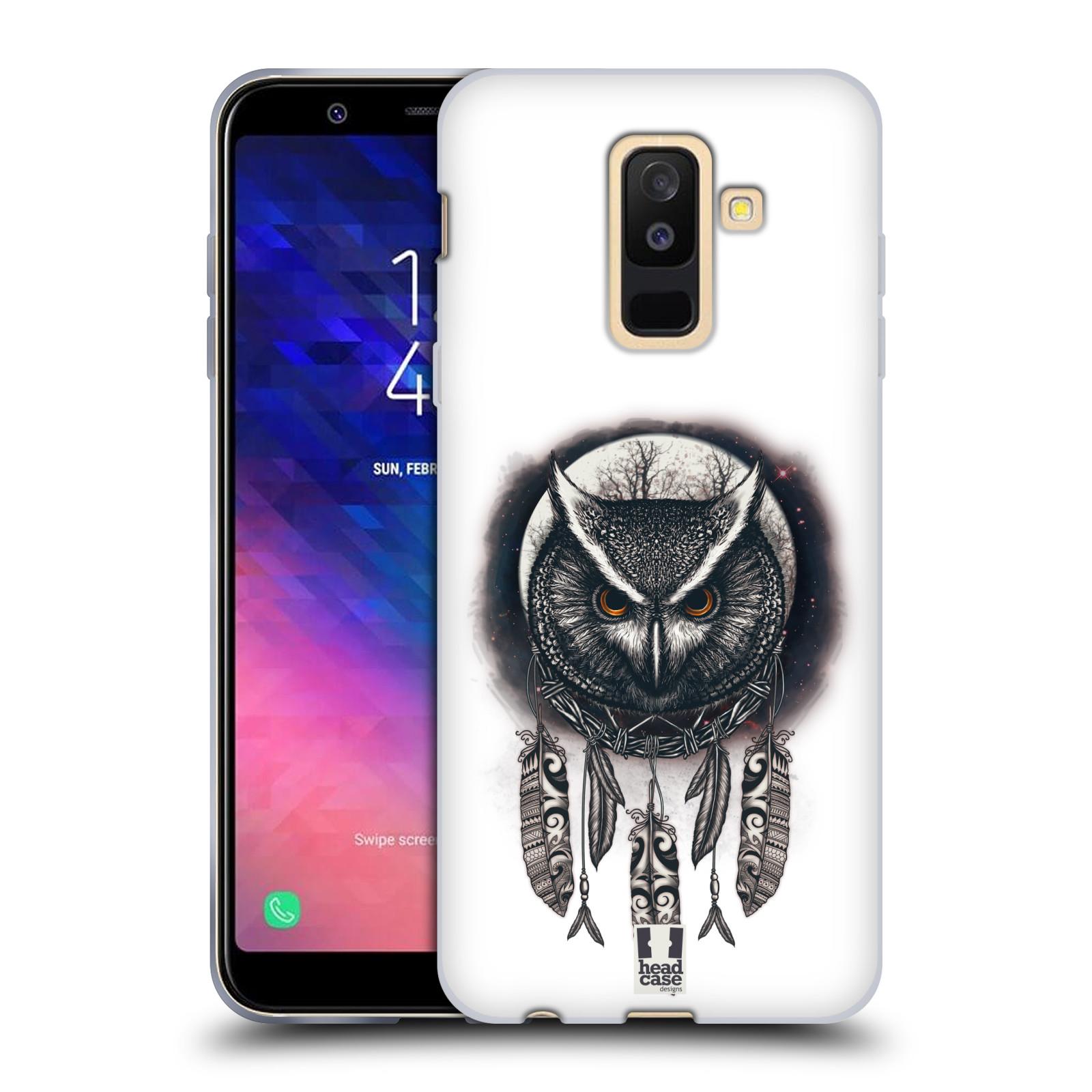 Silikonové pouzdro na mobil Samsung Galaxy A6 Plus (2018) - Head Case - Soví lapač