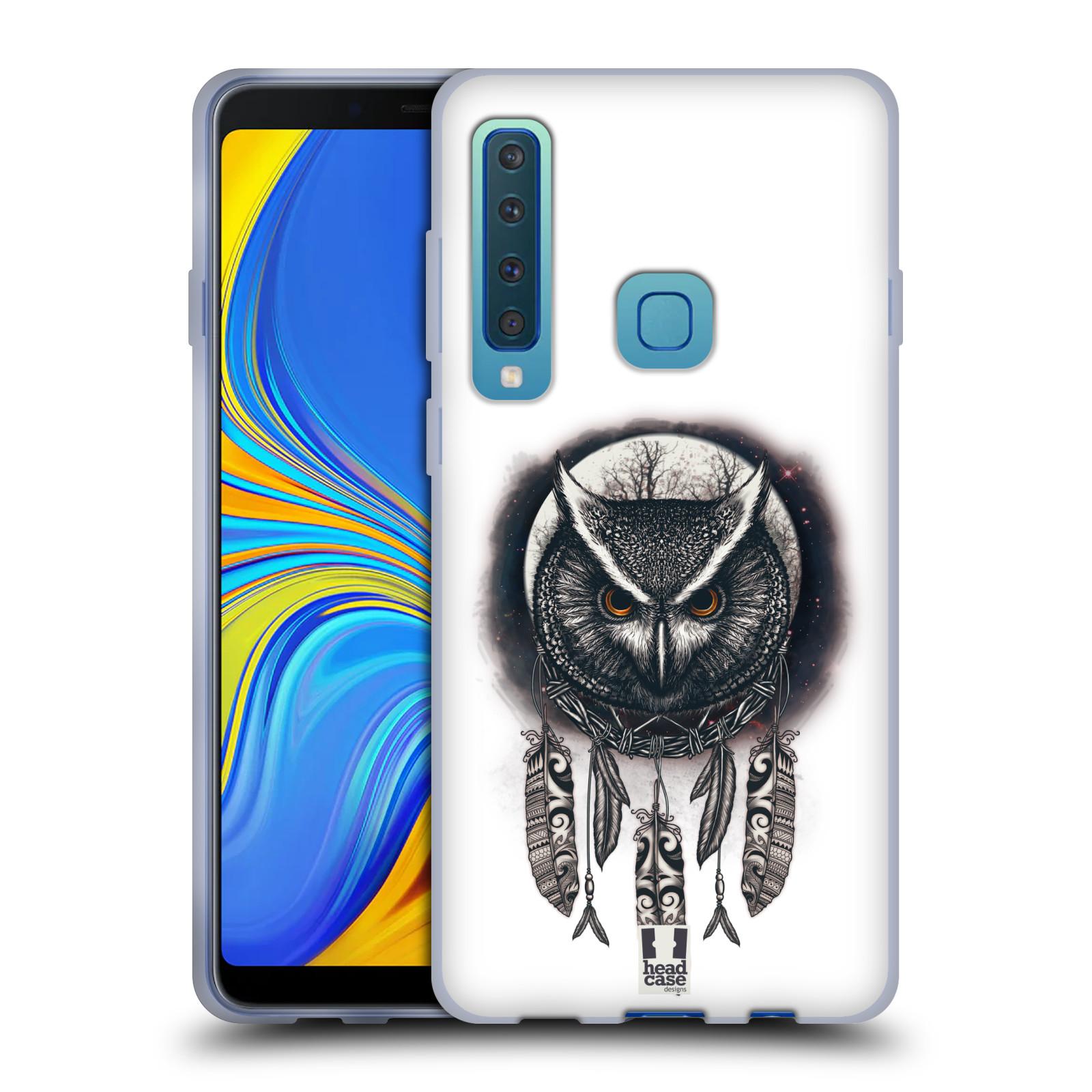 Silikonové pouzdro na mobil Samsung Galaxy A9 (2018) - Head Case - Soví lapač