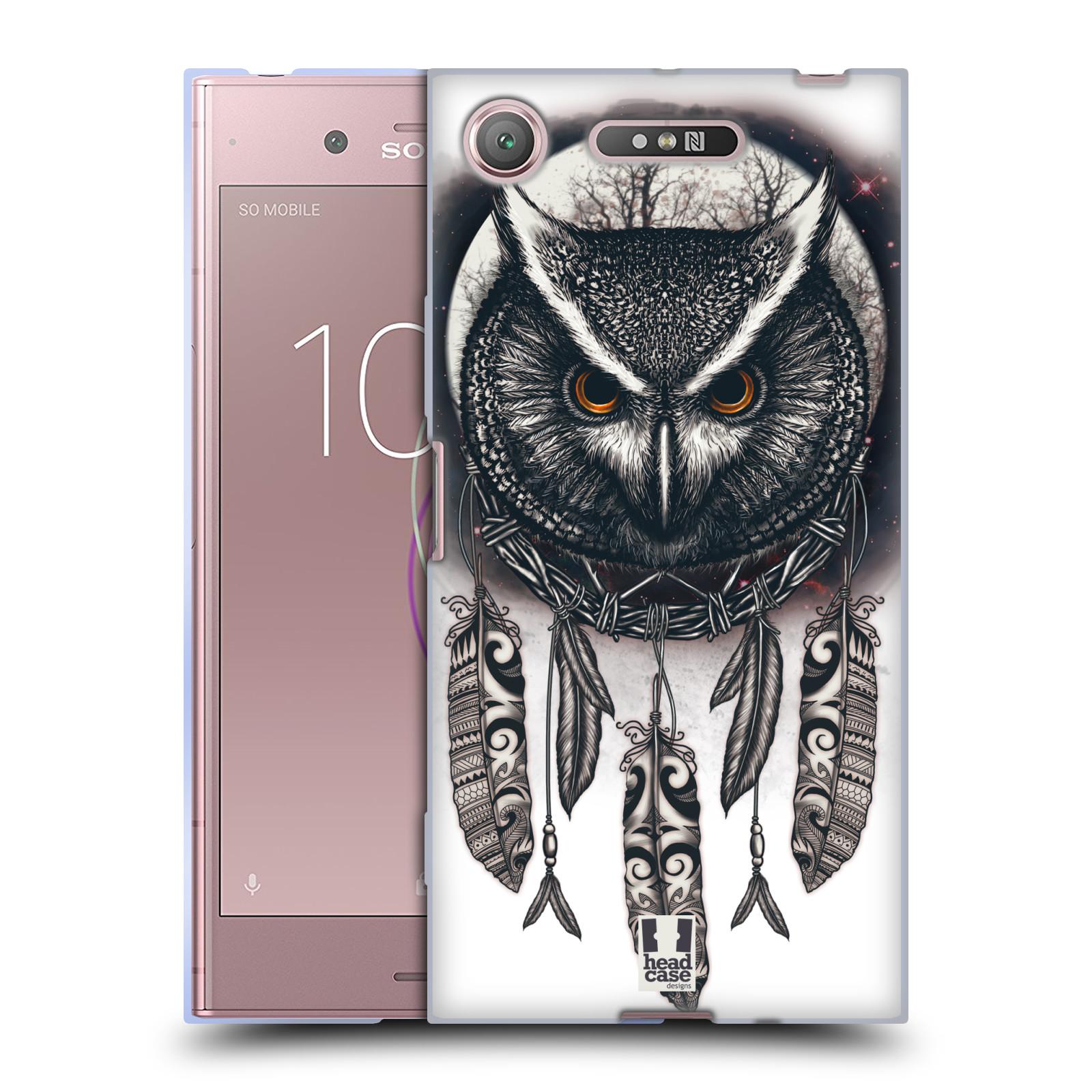 Silikonové pouzdro na mobil Sony Xperia XZ1 - Head Case - Soví lapač