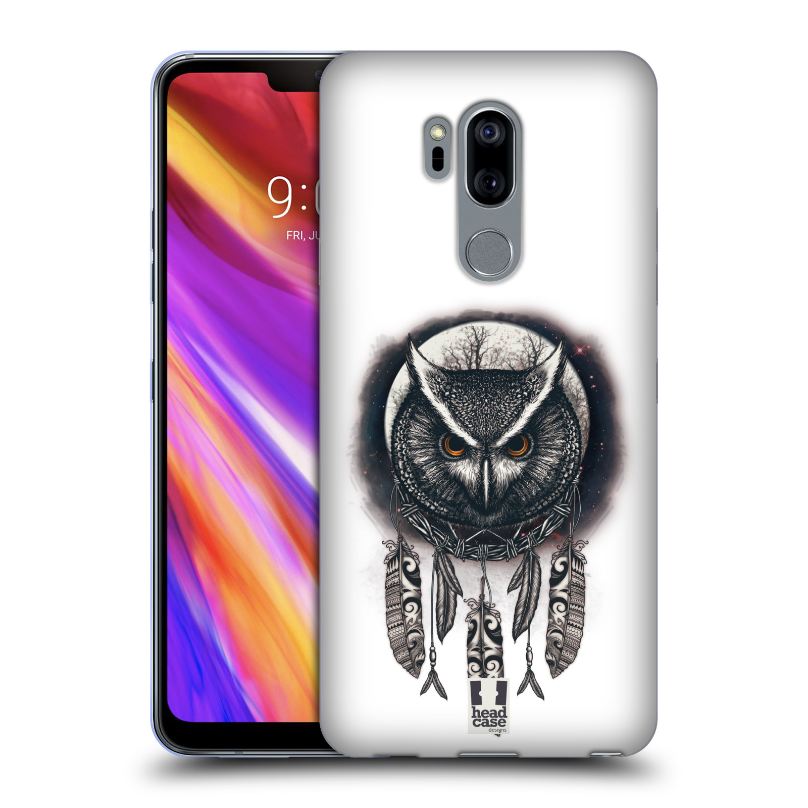 Silikonové pouzdro na mobil LG G7 ThinQ - Head Case - Soví lapač