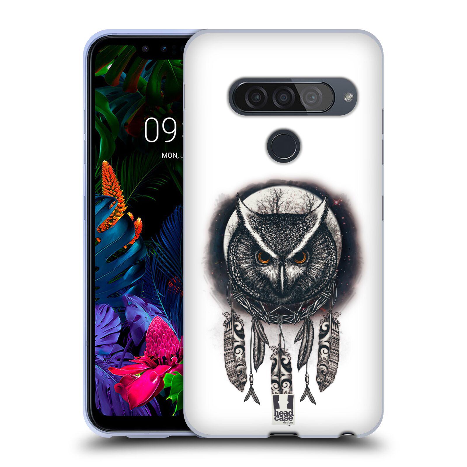 Silikonové pouzdro na mobil LG G8s ThinQ - Head Case - Soví lapač