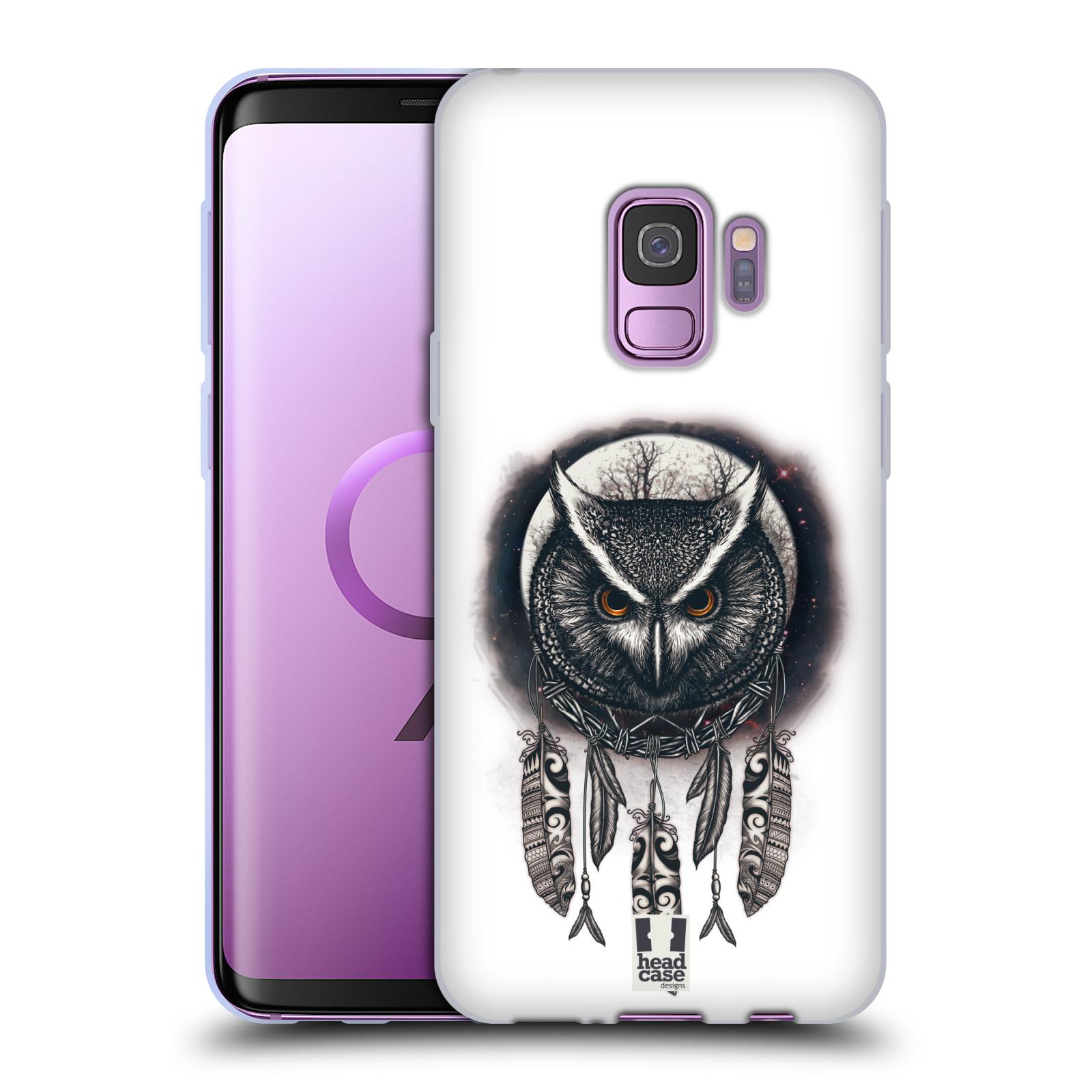 Silikonové pouzdro na mobil Samsung Galaxy S9 - Head Case - Soví lapač