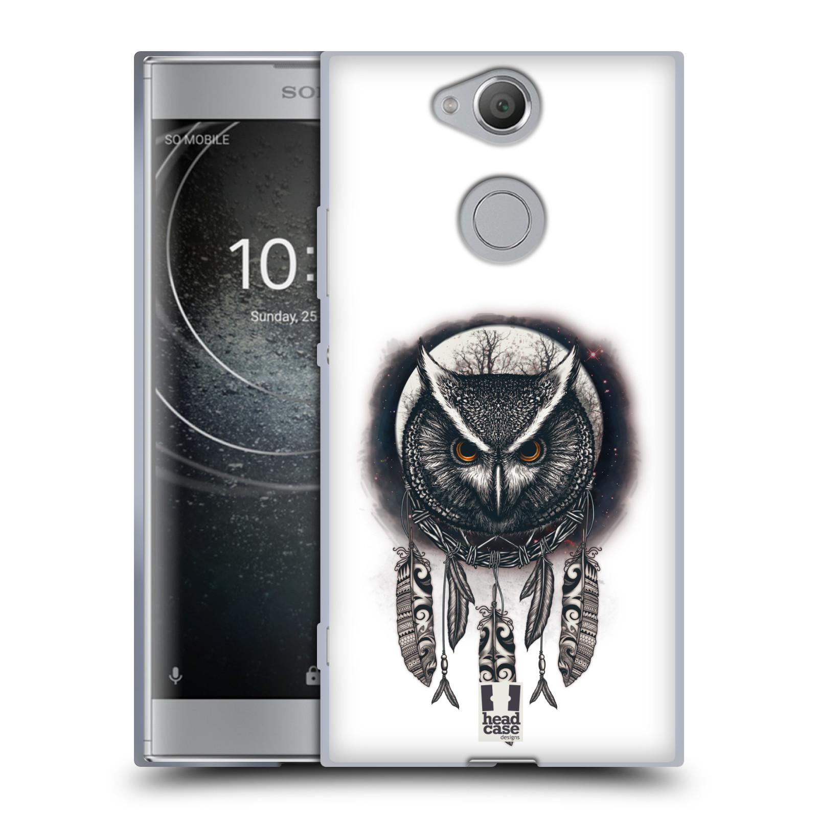 Silikonové pouzdro na mobil Sony Xperia XA2 - Head Case - Soví lapač