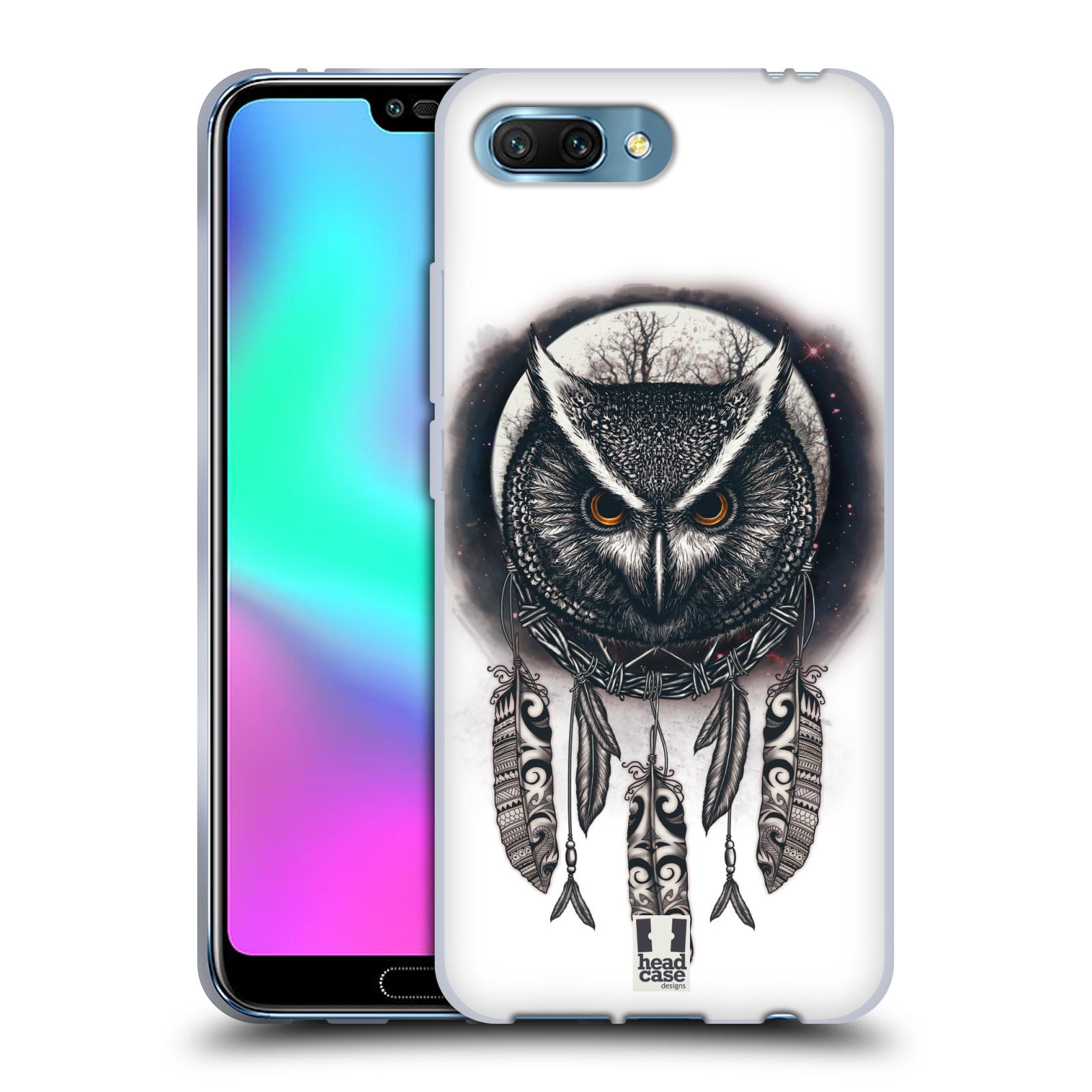 Silikonové pouzdro na mobil Honor 10 - Head Case - Soví lapač