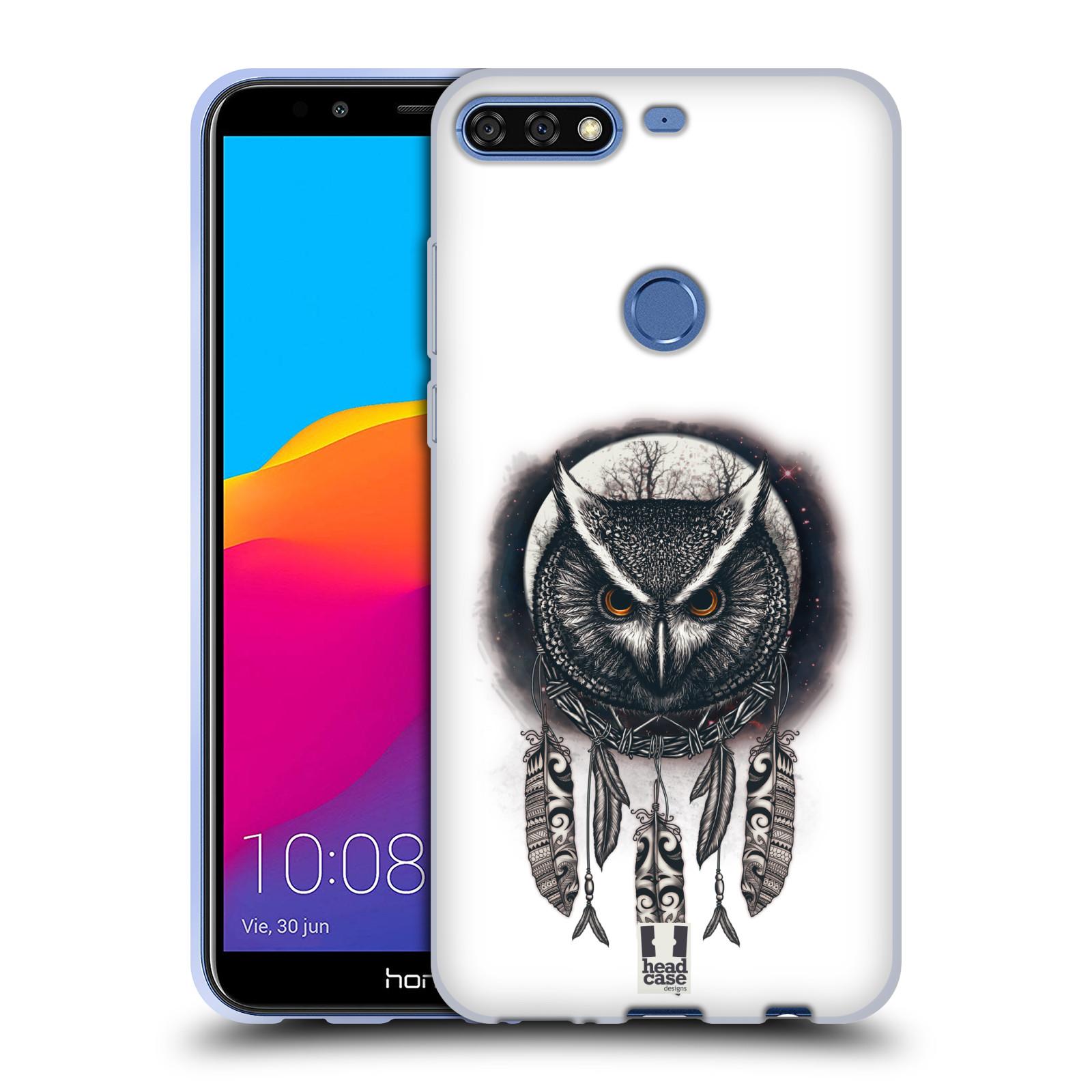 Silikonové pouzdro na mobil Huawei Y7 Prime (2018) - Head Case - Soví lapač