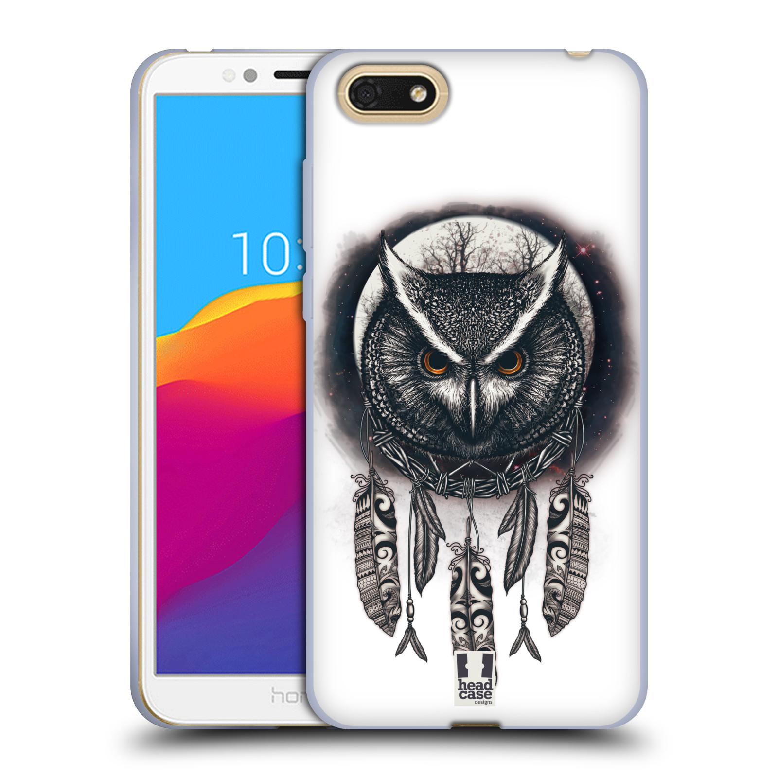Silikonové pouzdro na mobil Honor 7S - Head Case - Soví lapač