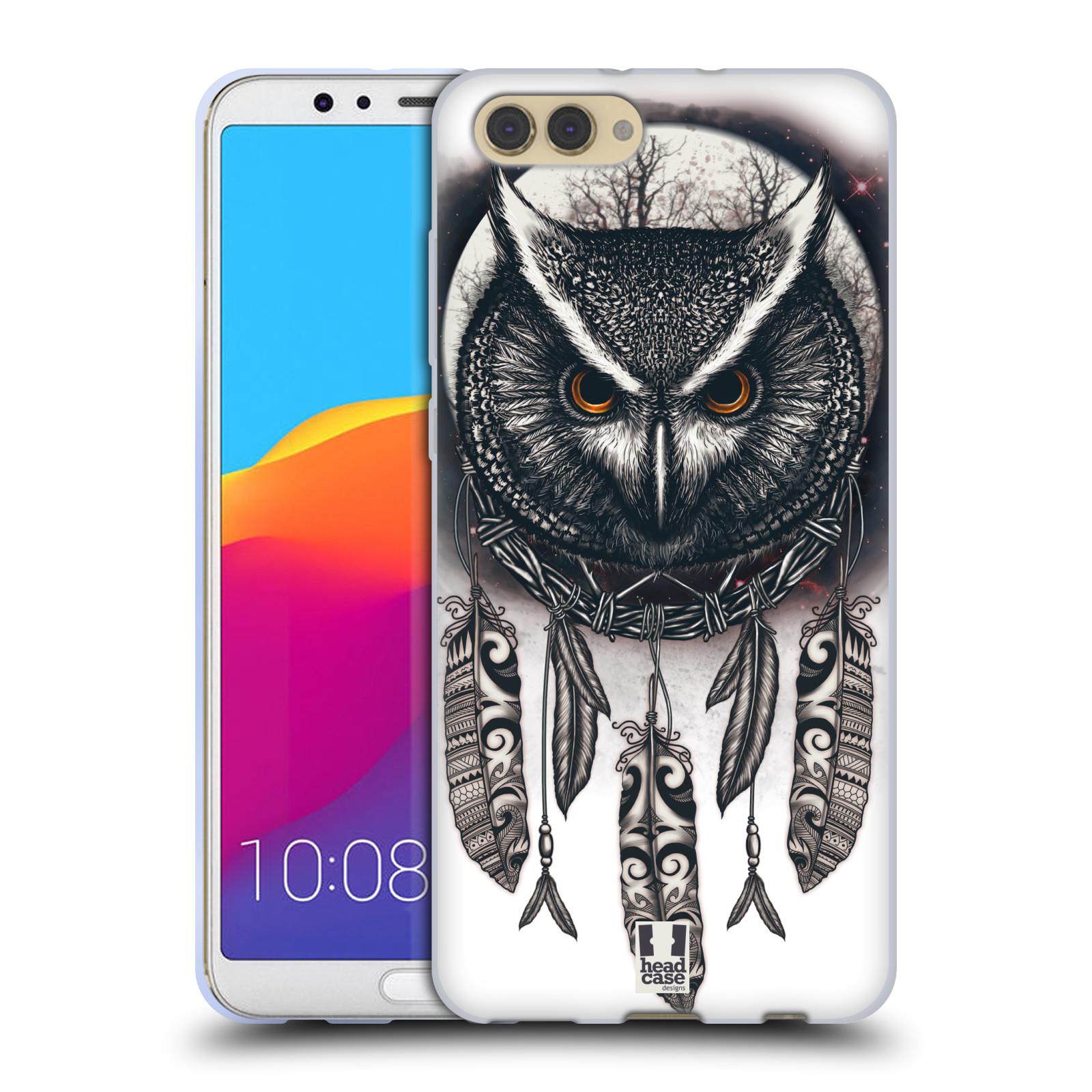 Silikonové pouzdro na mobil Honor View 10 - Head Case - Soví lapač