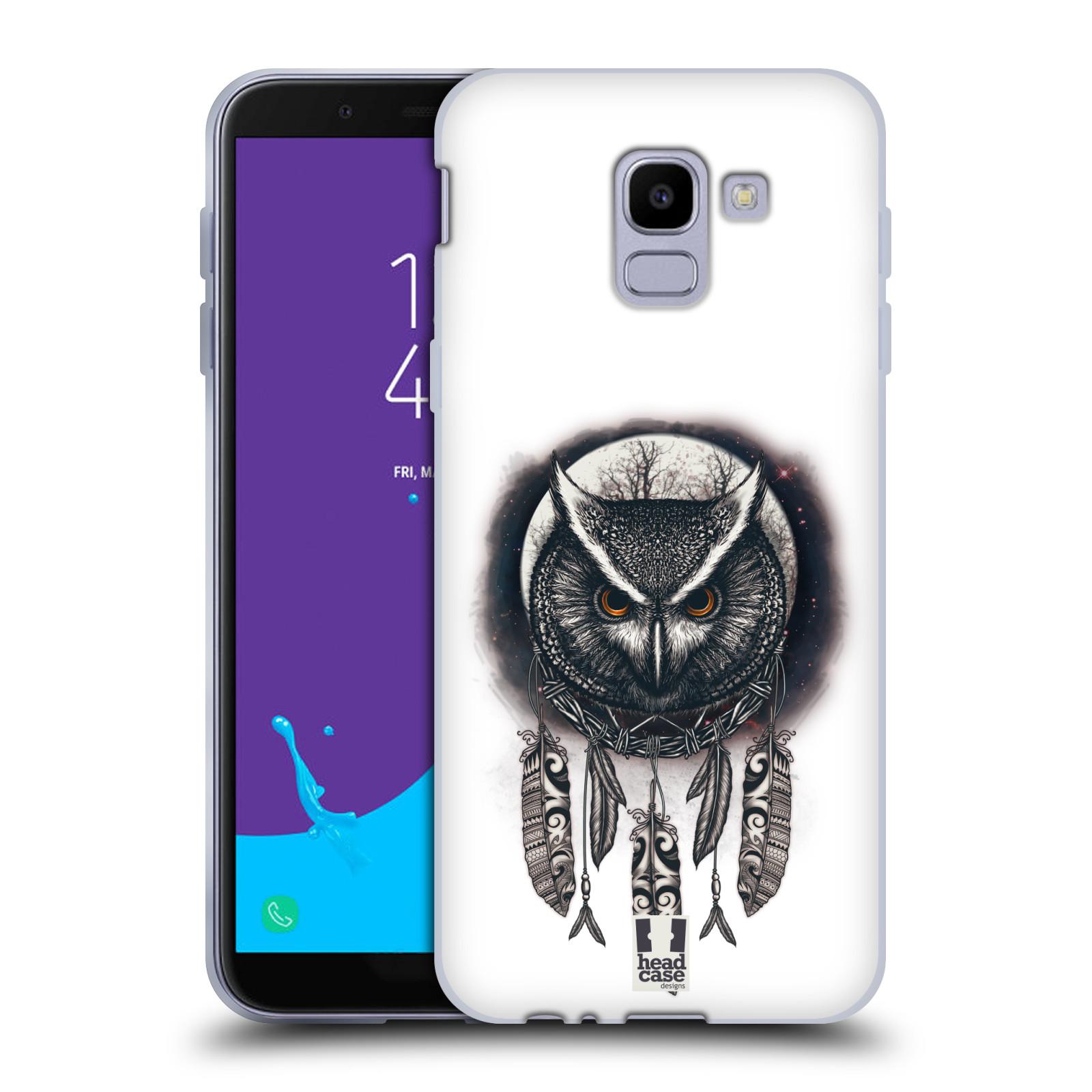 Silikonové pouzdro na mobil Samsung Galaxy J6 (2018) - Head Case - Soví lapač