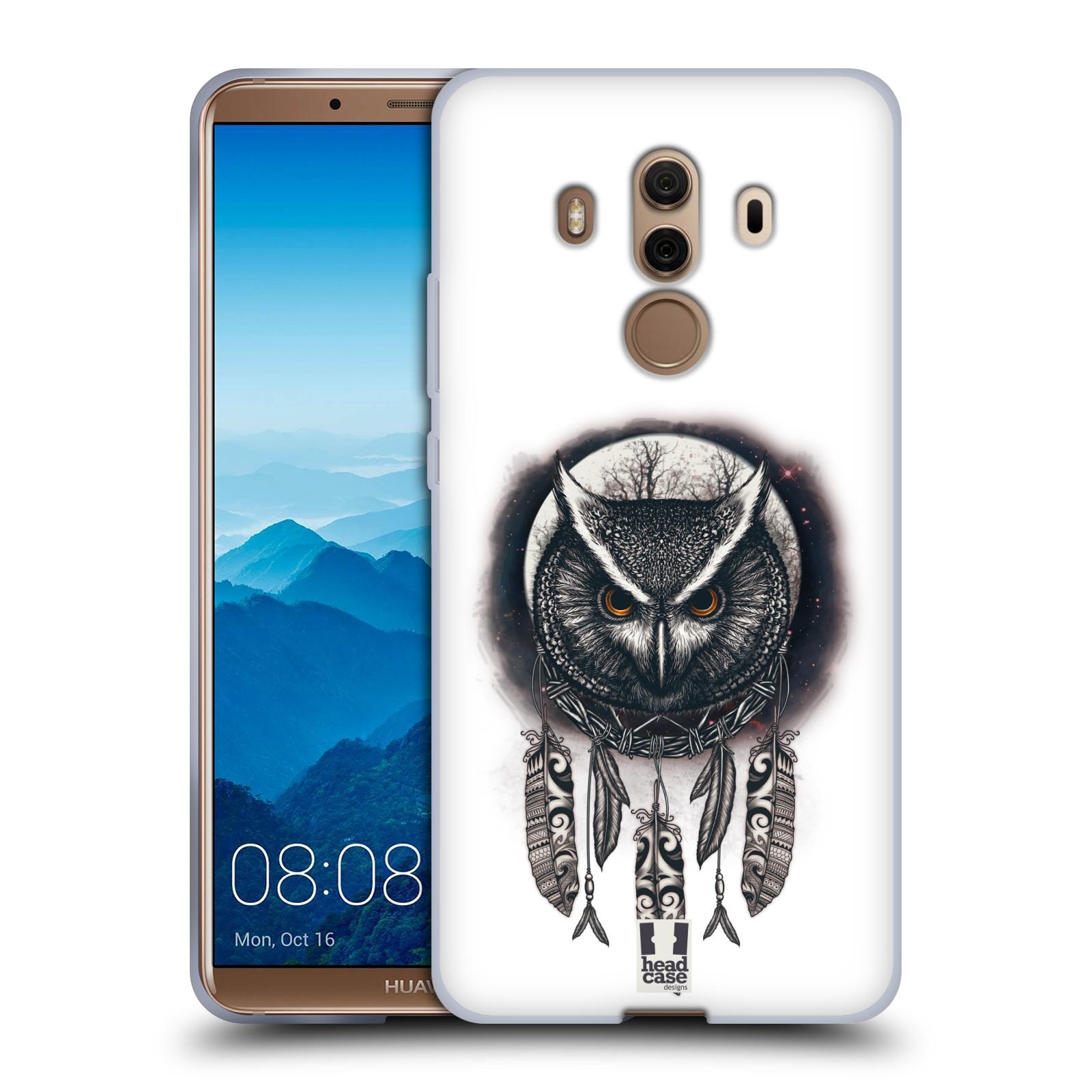 Silikonové pouzdro na mobil Huawei Mate 10 Pro - Head Case - Soví lapač