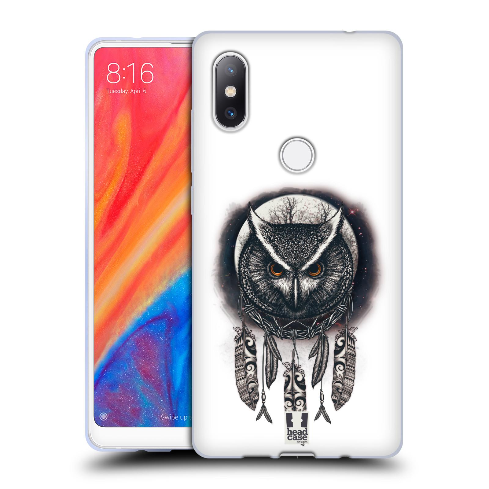 Silikonové pouzdro na mobil Xiaomi Mi Mix 2S - Head Case - Soví lapač
