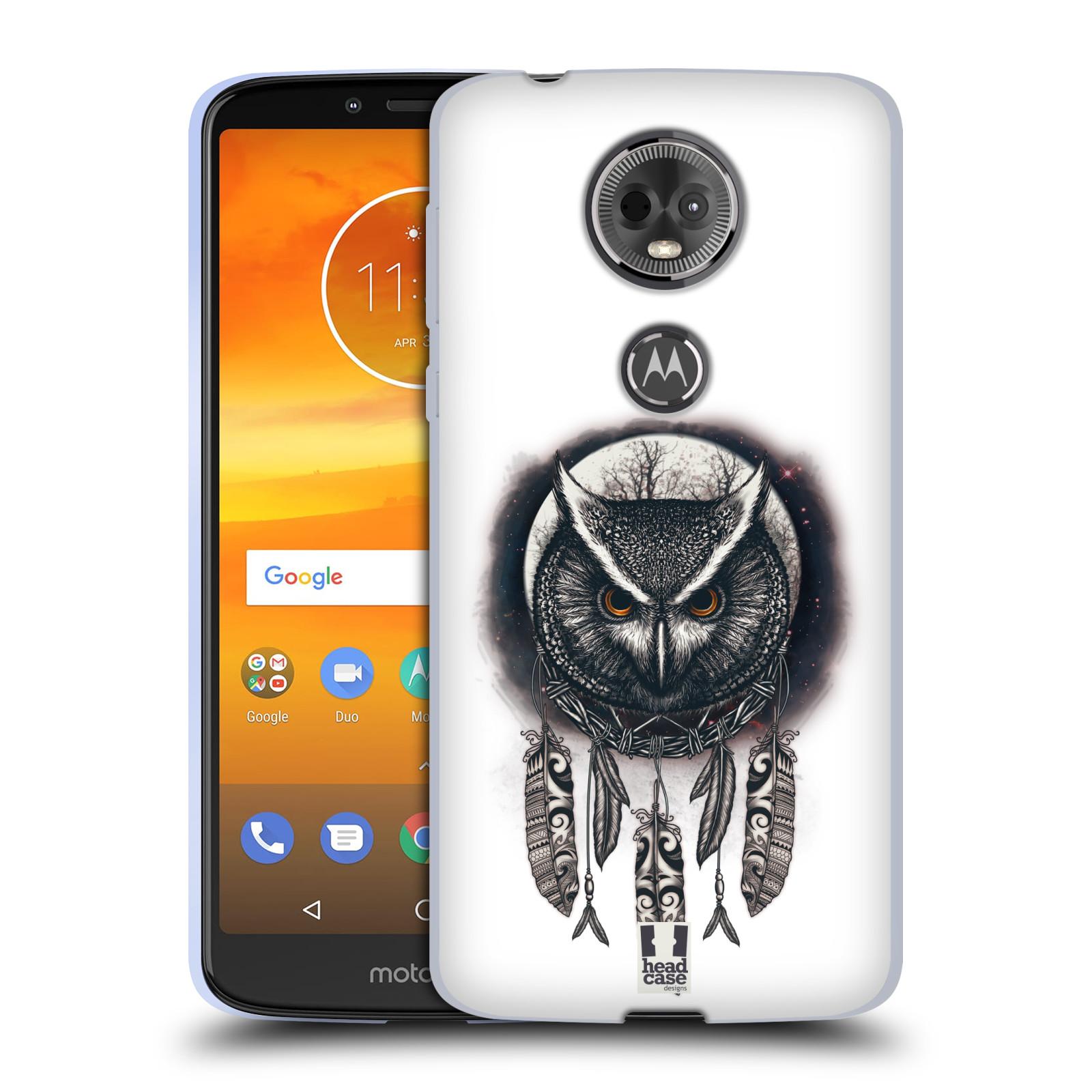 Silikonové pouzdro na mobil Motorola Moto E5 Plus - Head Case - Soví lapač