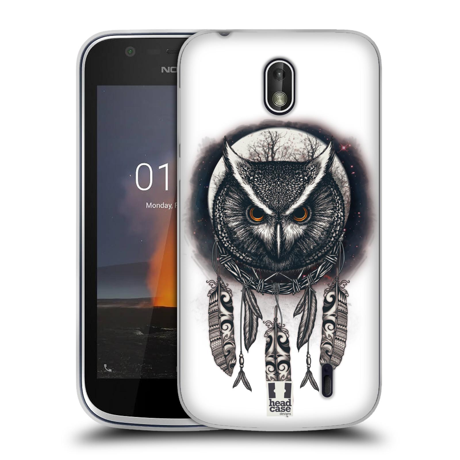 Silikonové pouzdro na mobil Nokia 1 - Head Case - Soví lapač