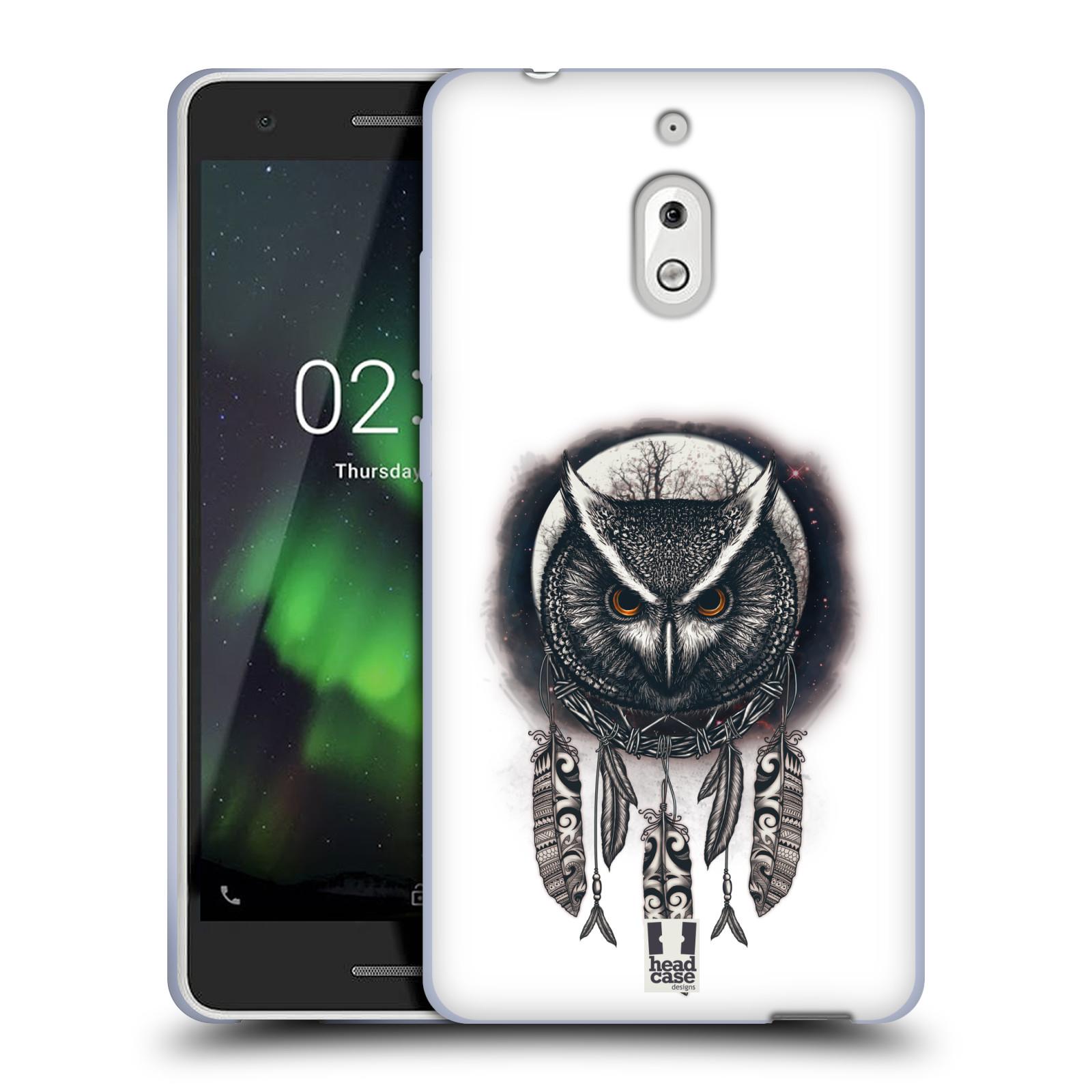 Silikonové pouzdro na mobil Nokia 2.1 - Head Case - Soví lapač