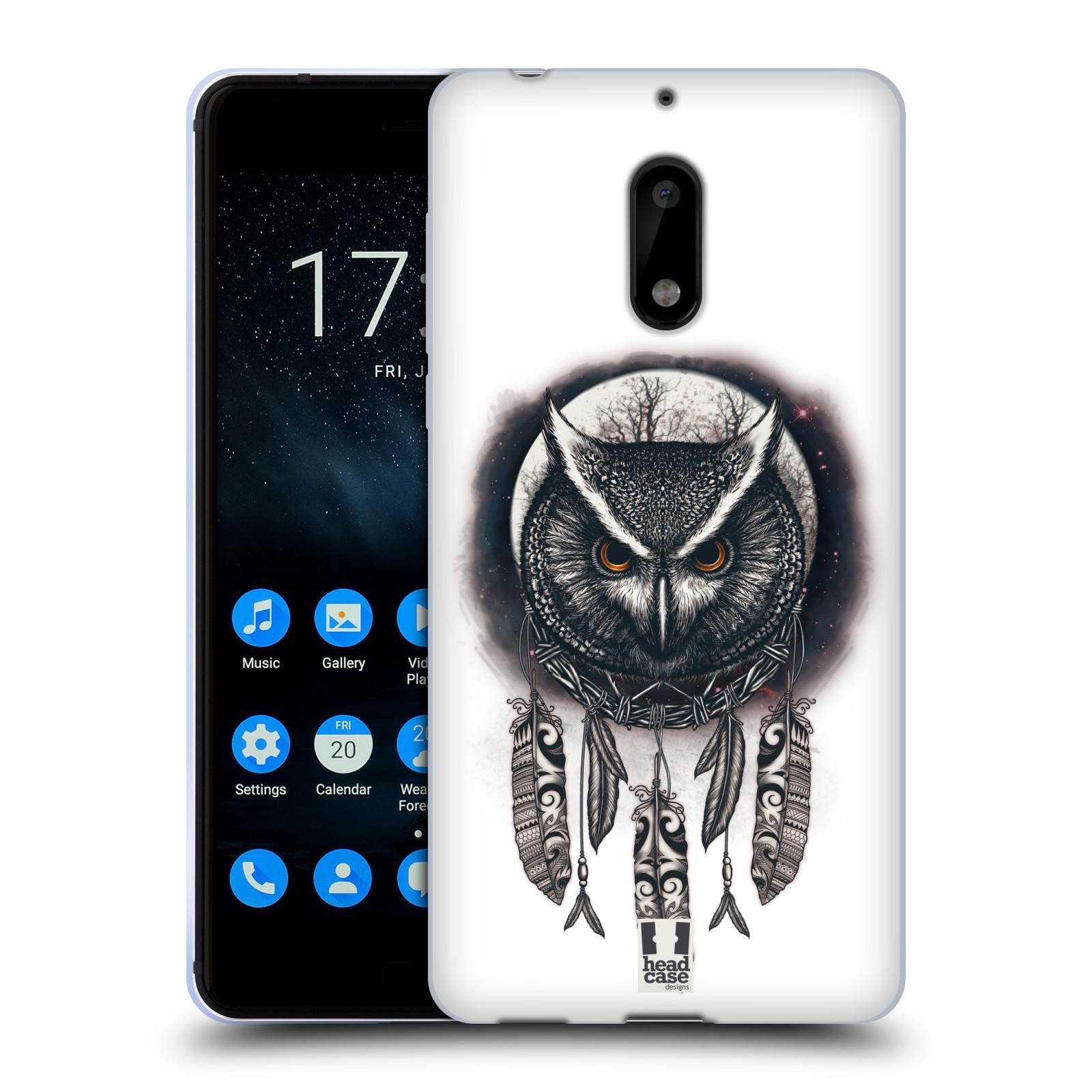 Silikonové pouzdro na mobil Nokia 6 - Head Case - Soví lapač