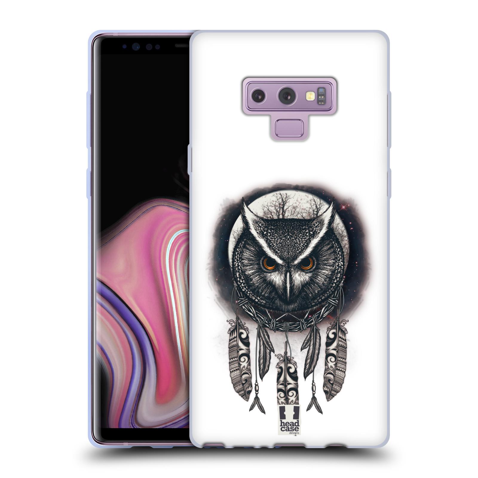 Silikonové pouzdro na mobil Samsung Galaxy Note 9 - Head Case - Soví lapač